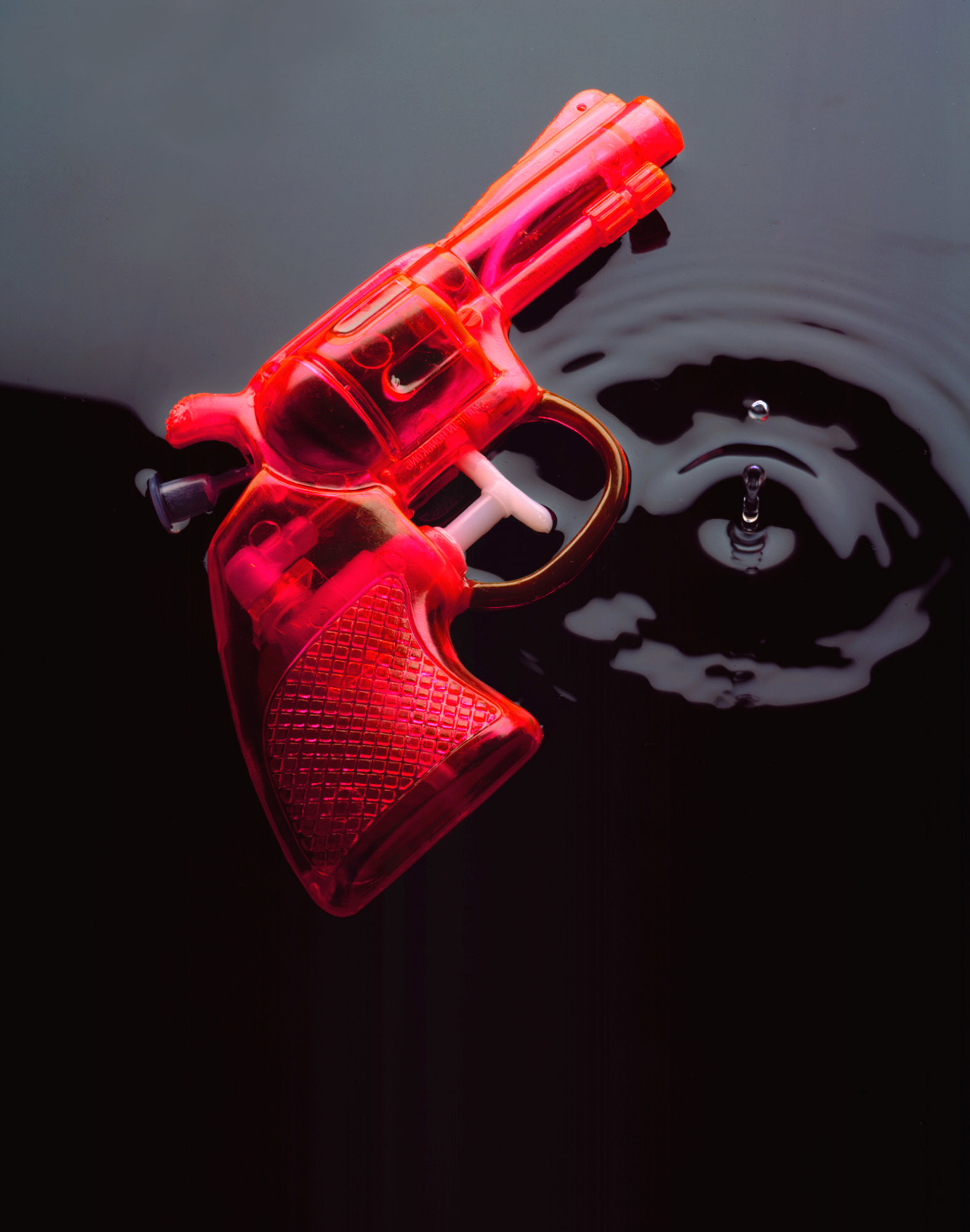 Water Pistol      Ed. 2/20 by Phil Marco