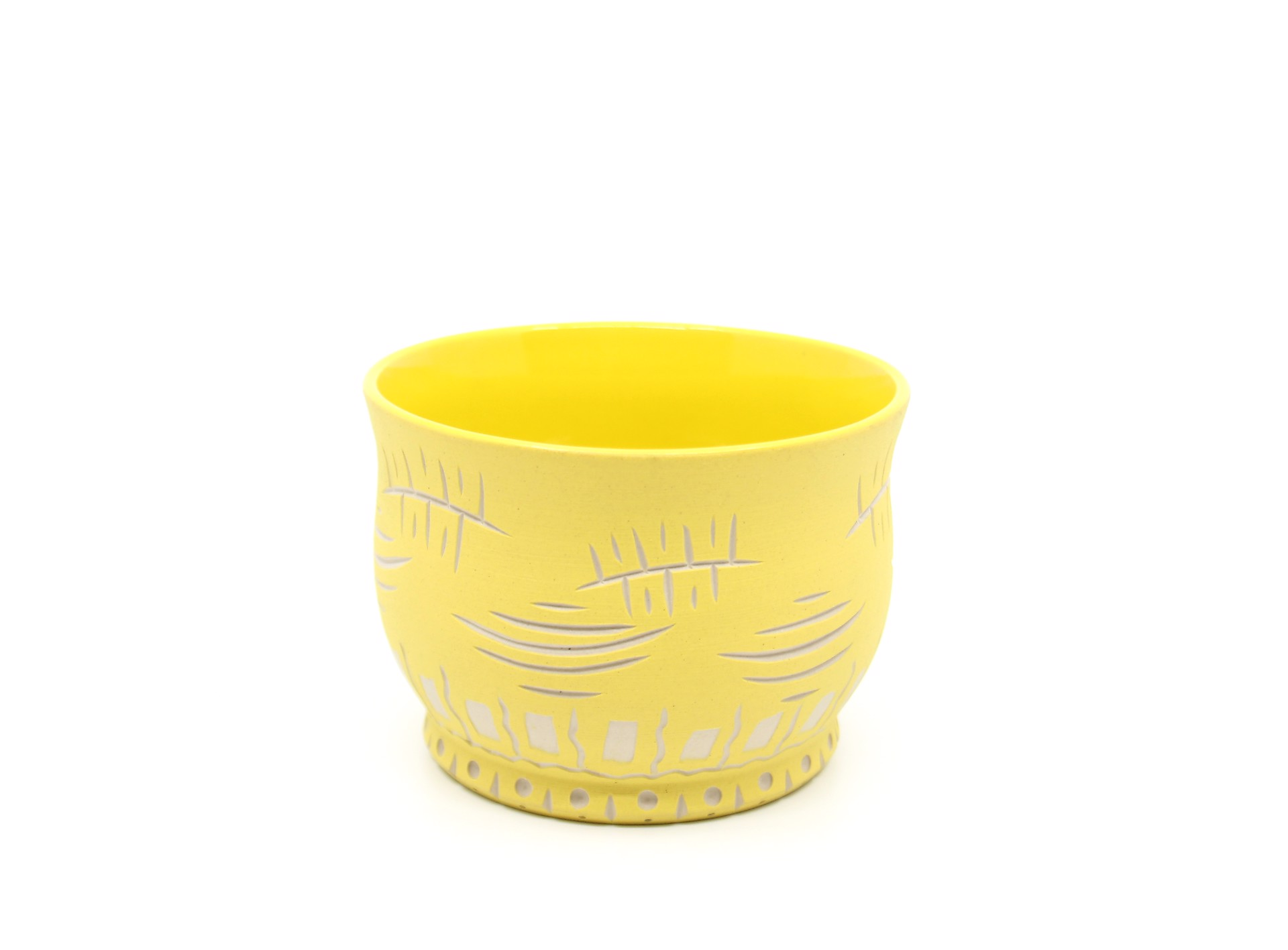 Small Yellow Bowl by Chris Casey