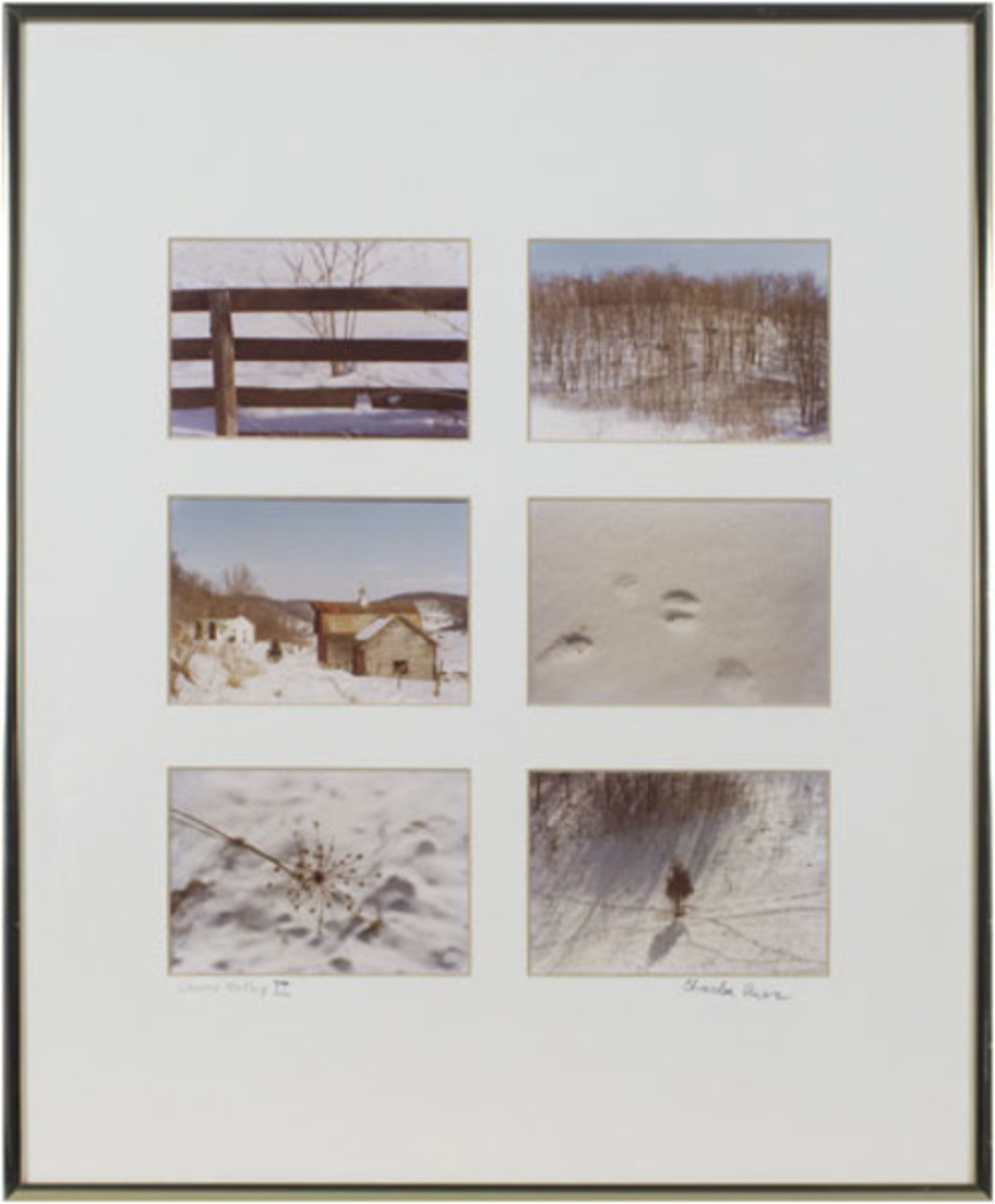 Country Medley II, signed (Series of 6) by Charles Auer