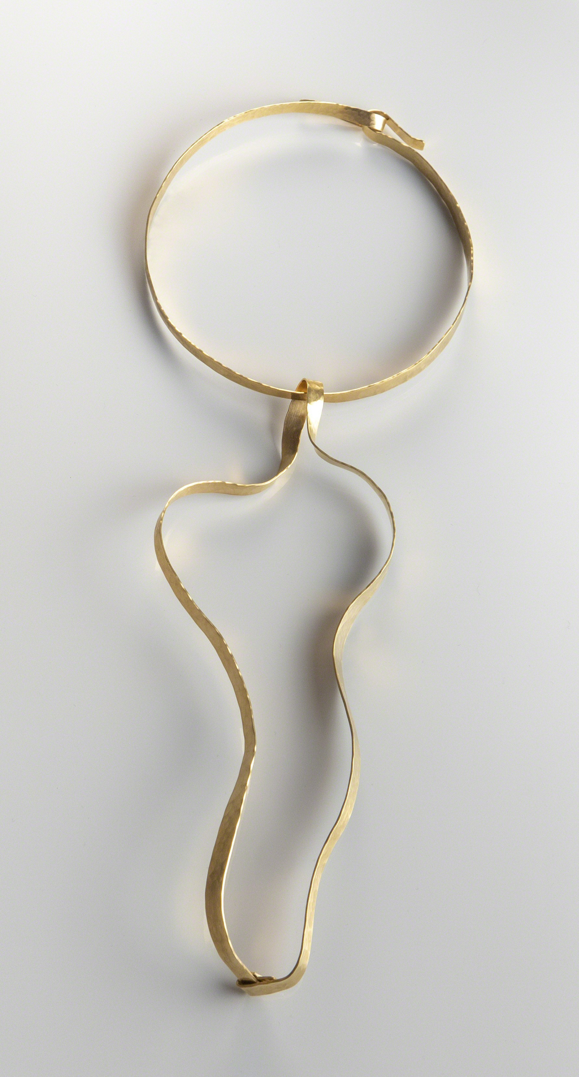 """Waves"" Necklace by Jacques Jarrige"