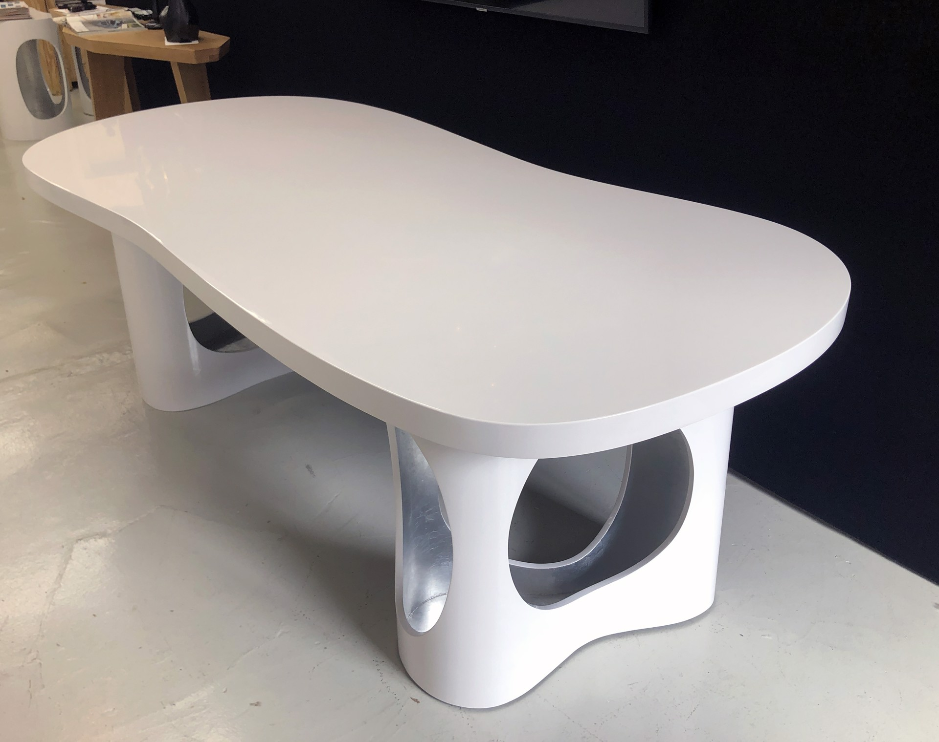 """Cloud"" Desk or Dining table  by Jacques Jarrige"