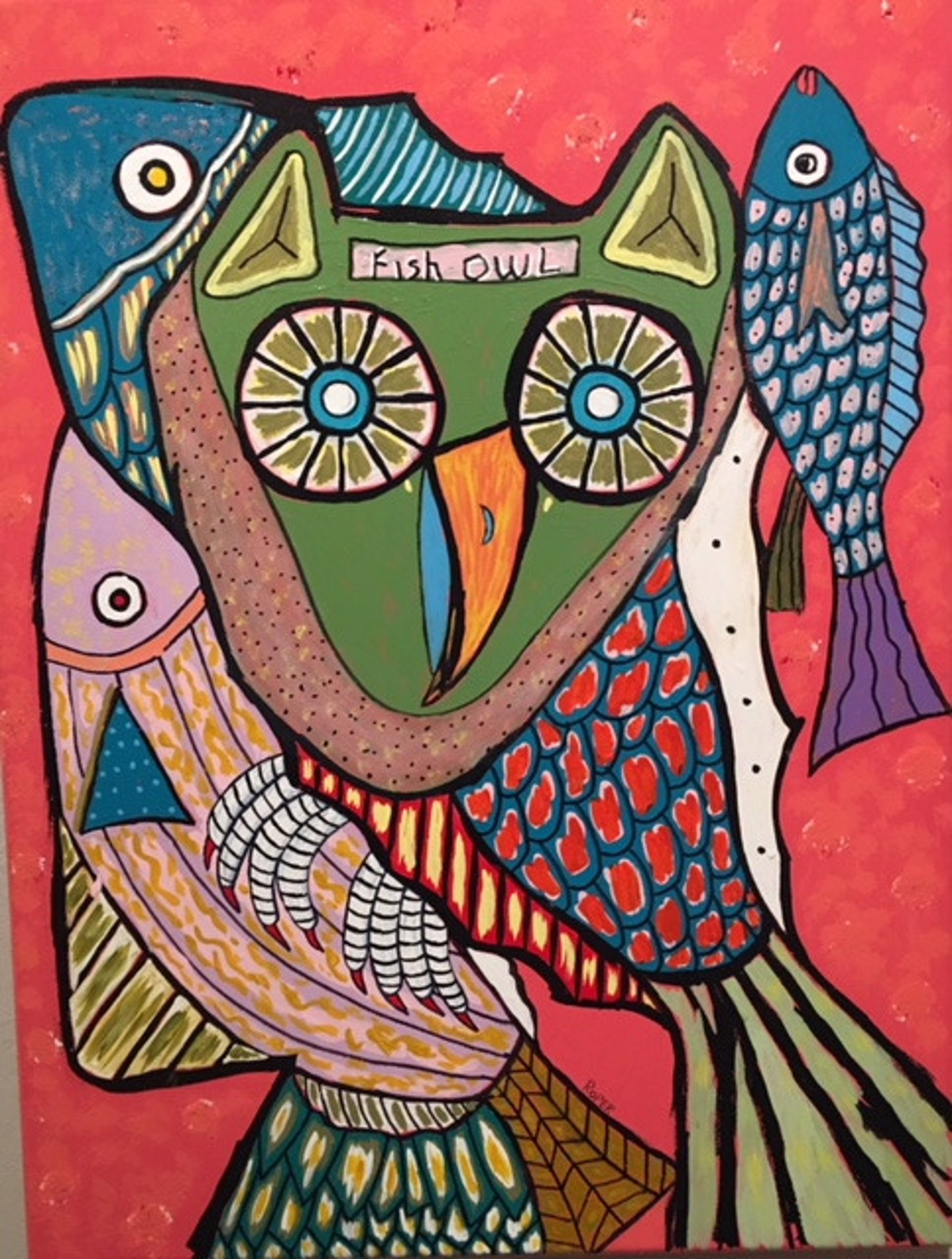 Fish Owl by Billy Roper