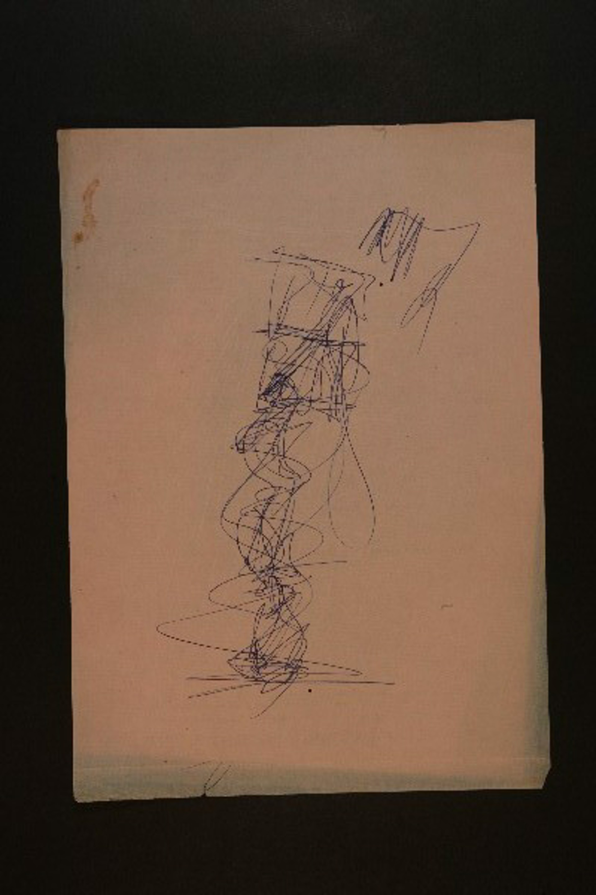 Drawing From the 1970's #64 by Purvis Young (1943 - 2010)