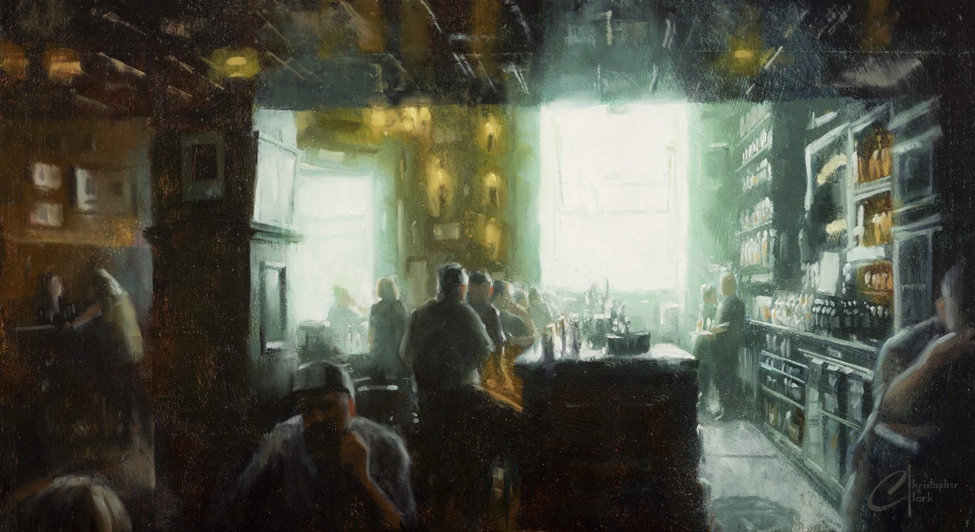 Dublin Pub by Christopher Clark