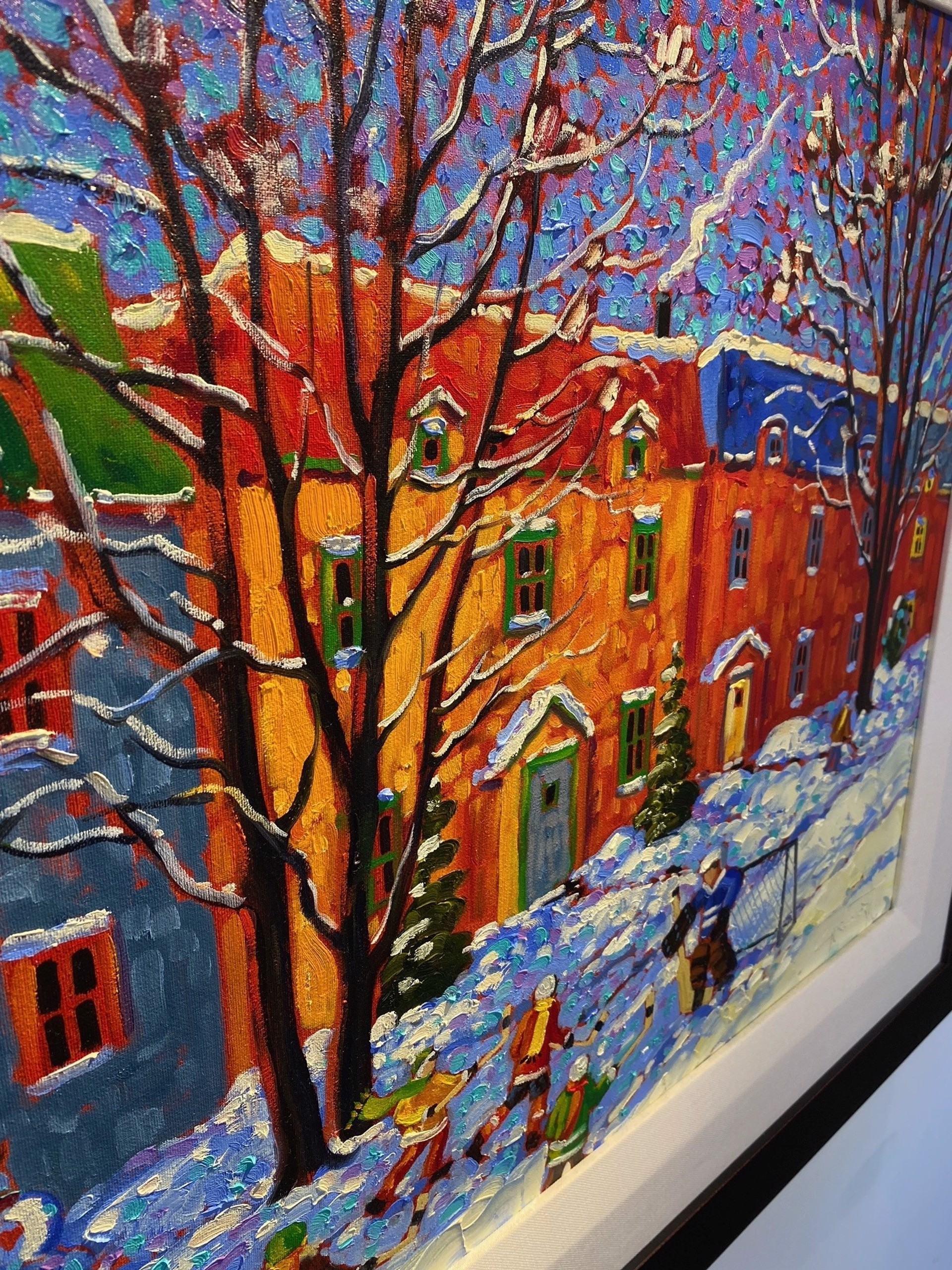 Rod Charlesworth - After A December Snowfall by Historical Art