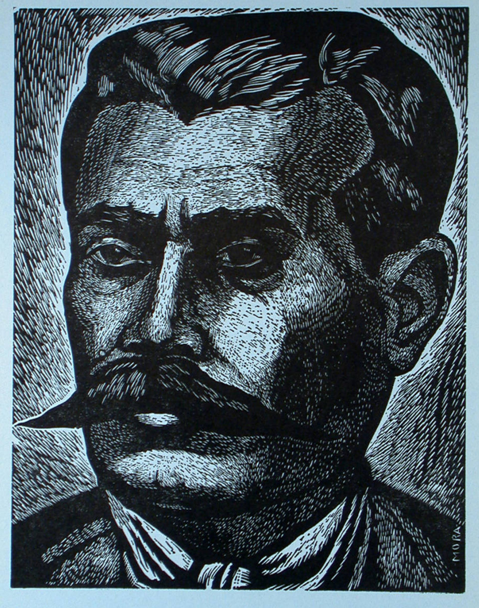 Emiliano Zapata, Lider de la Revolución Agraria by Francisco Mora (1922 - 2002)