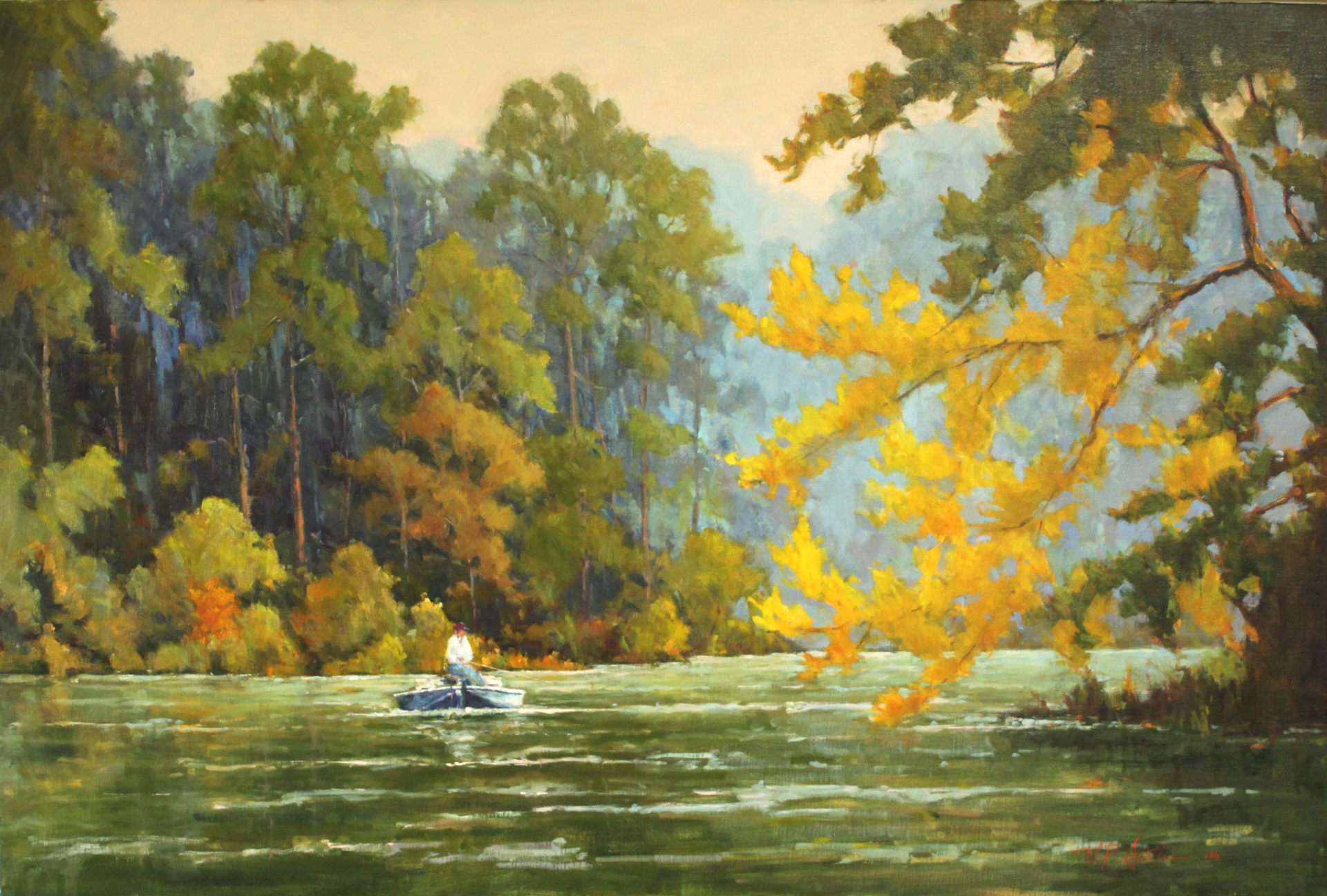 Fall Solitude by Perry Austin