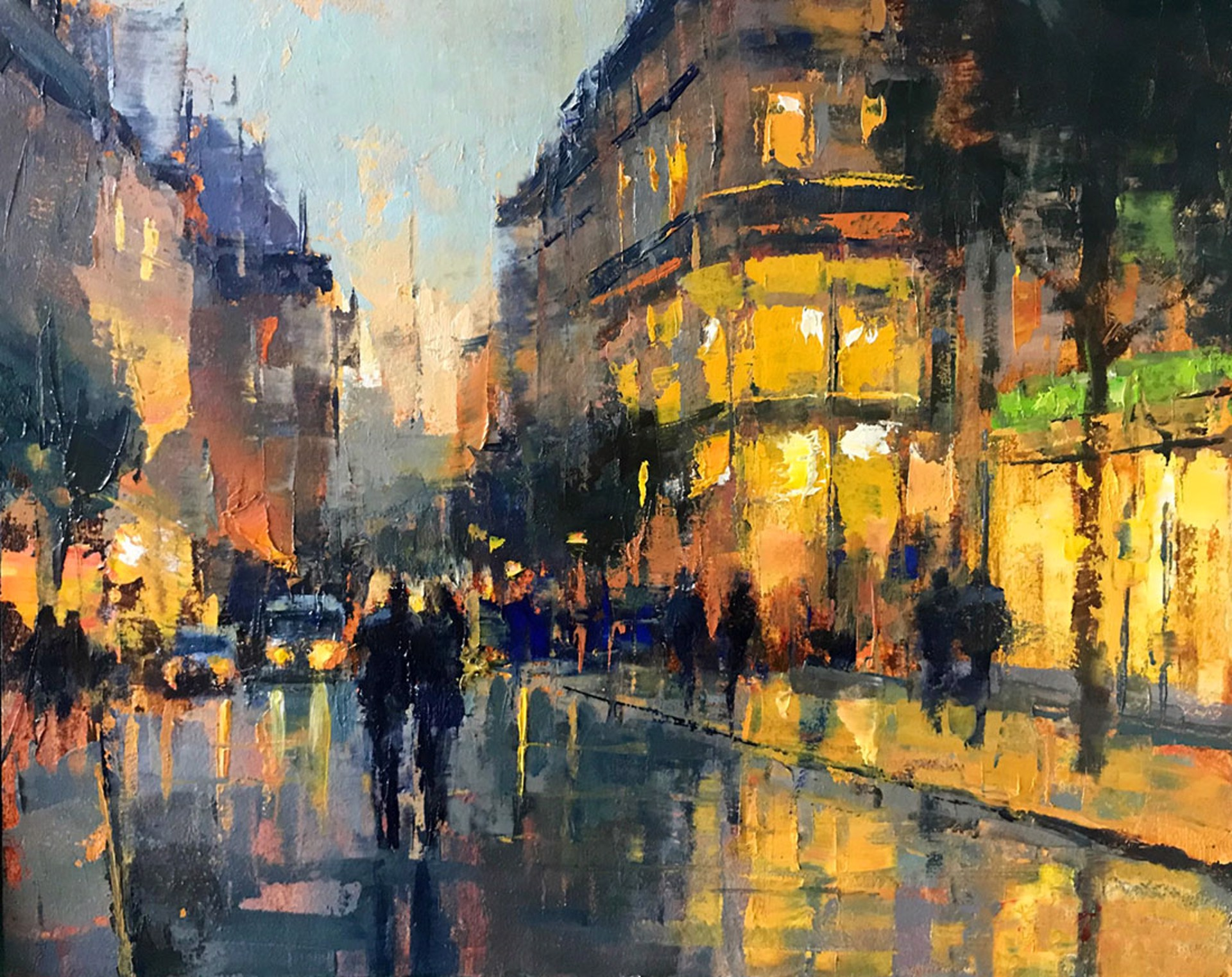 Paris Streets by Perry Brown