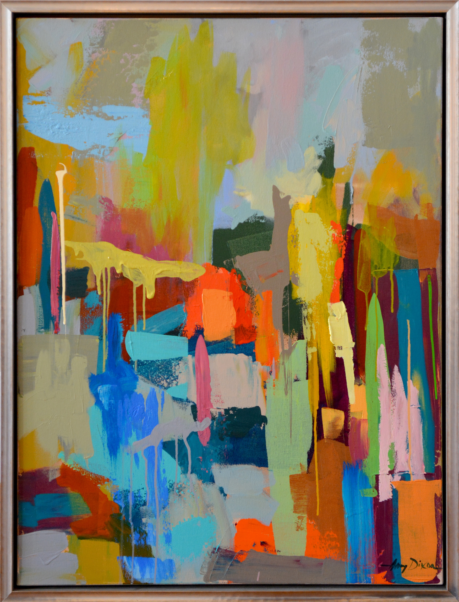 Out West (Diptych) by Amy Dixon