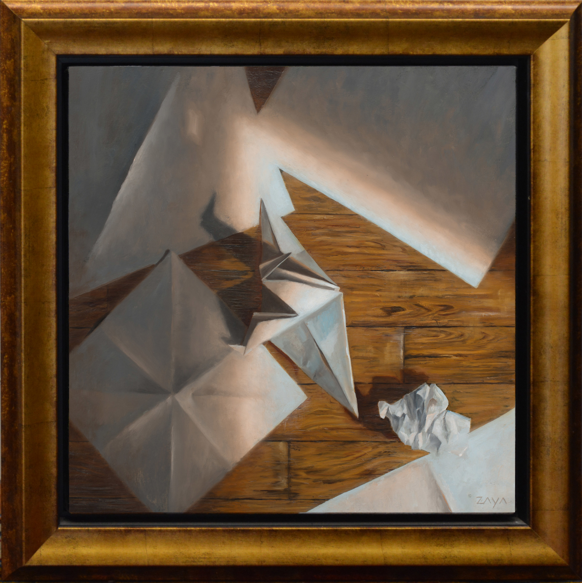 Paper Crane in Morning Light by Isaiah Ratterman