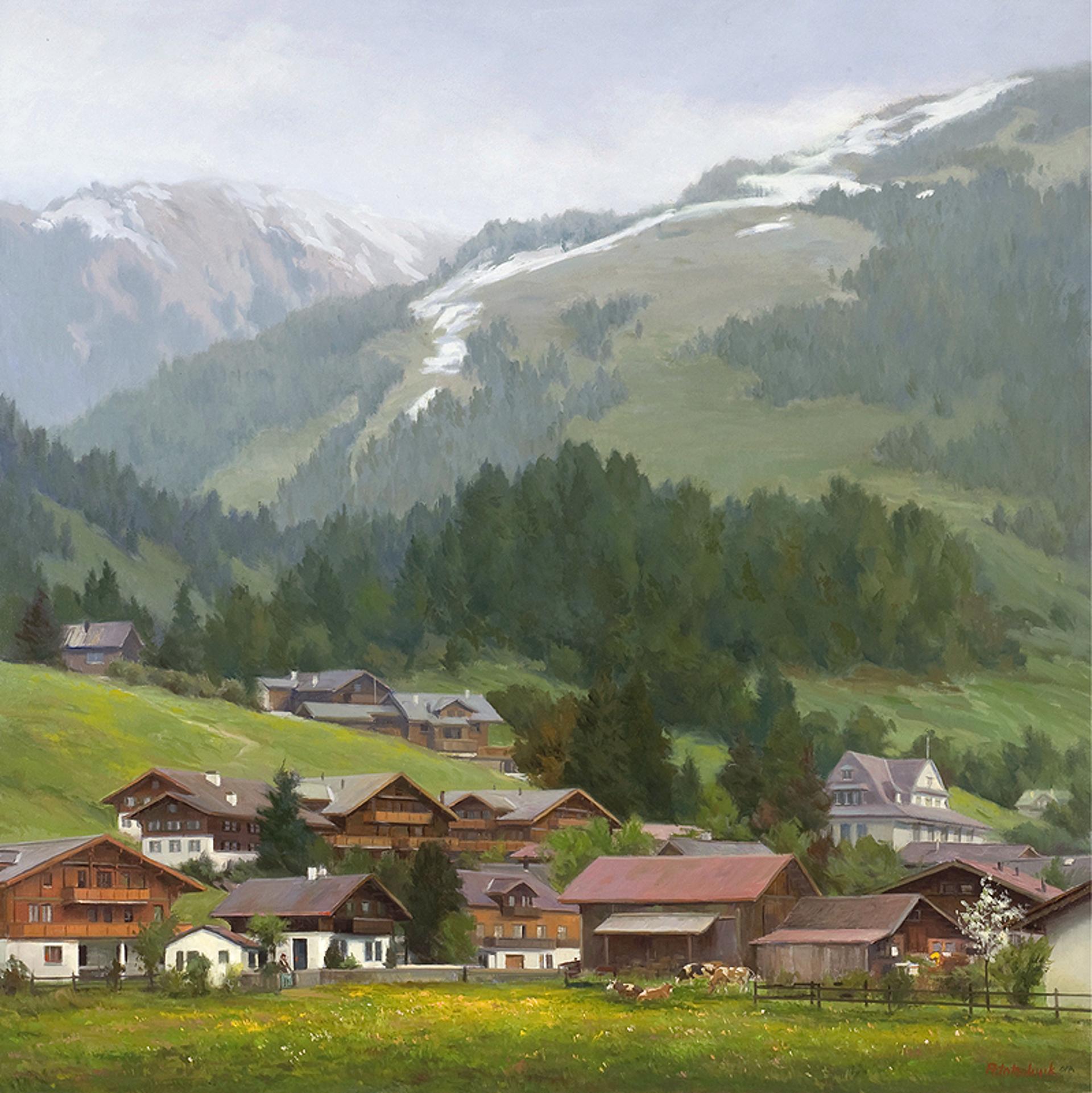 Beneath the Noble Alps by John Pototschnik