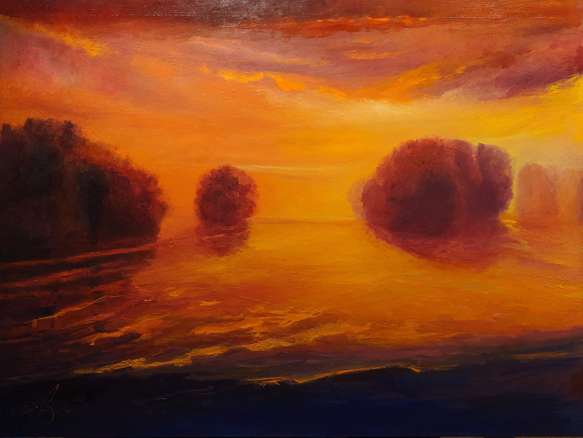 Evening Serenity by Craig Freeman