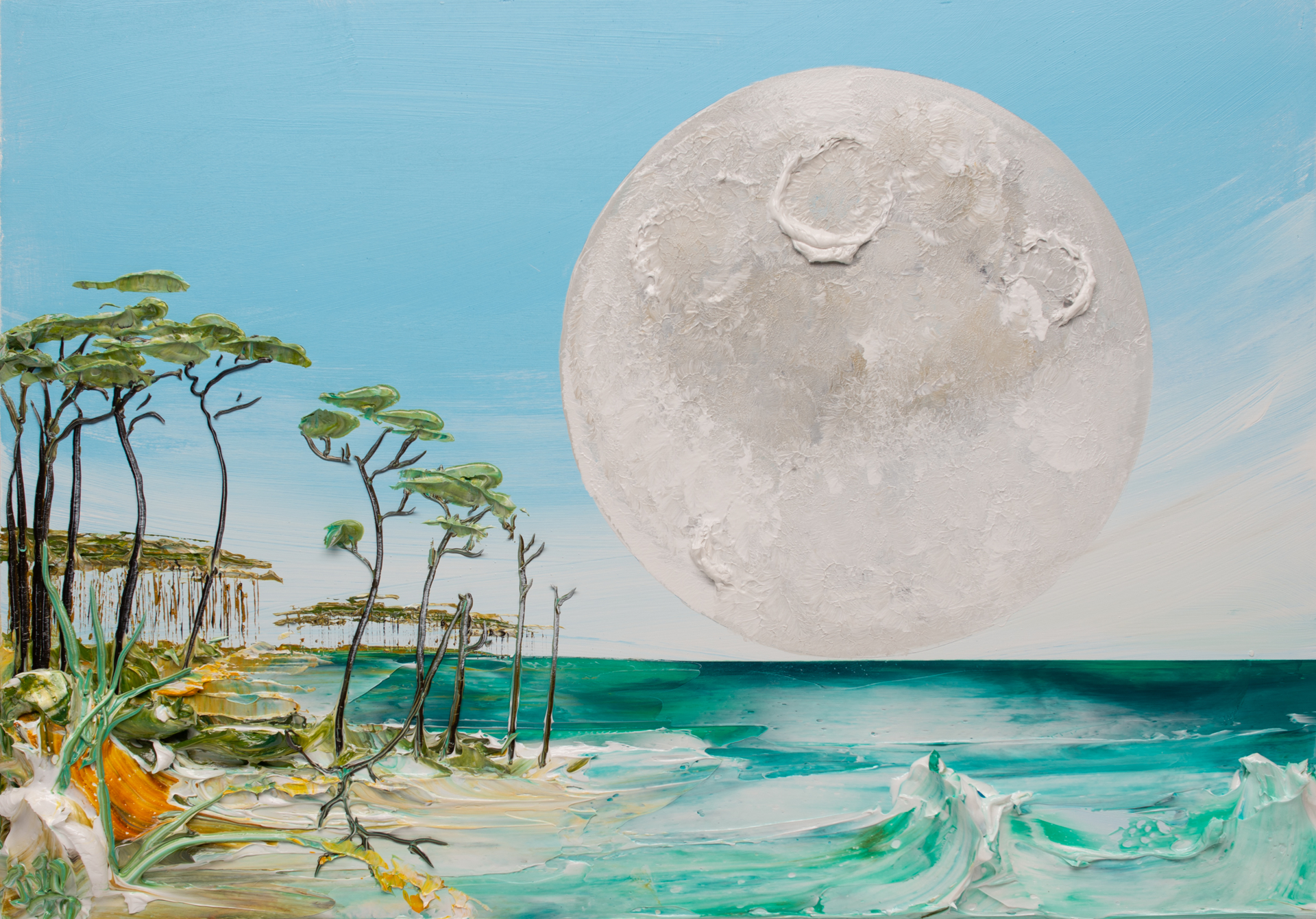 MOONSCAPE MS-32x22-2019-302 by JUSTIN GAFFREY