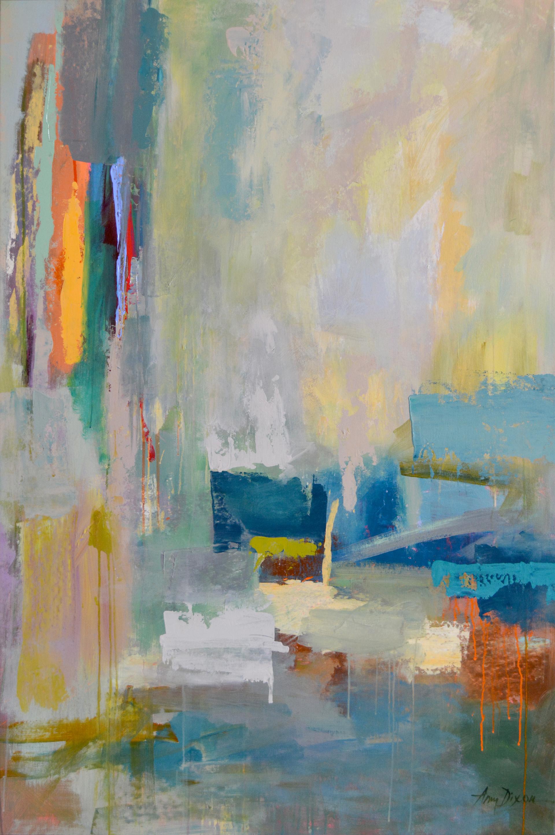 Landfall Glimpse by Amy Dixon