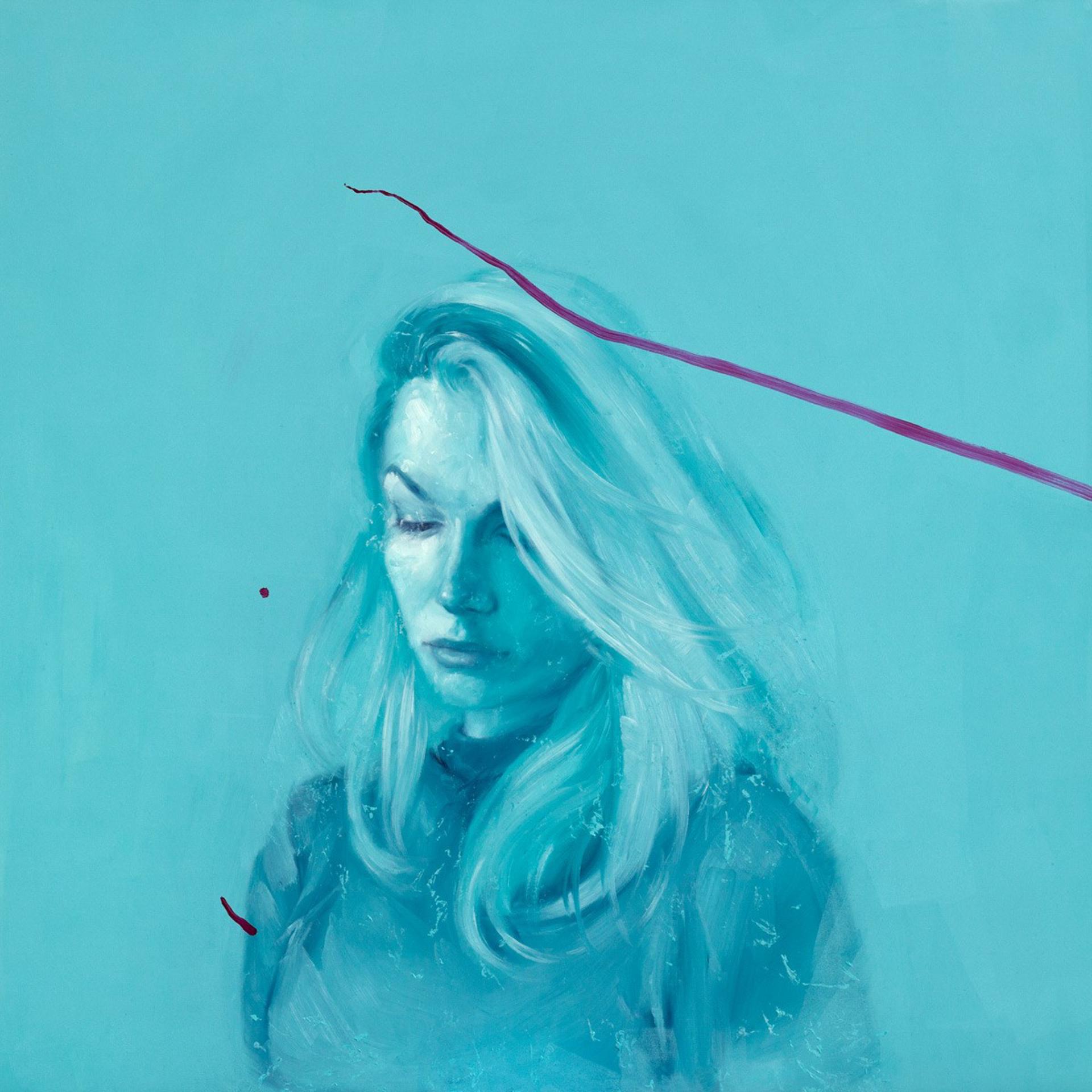 K in Turquoise by Valentin Fischer