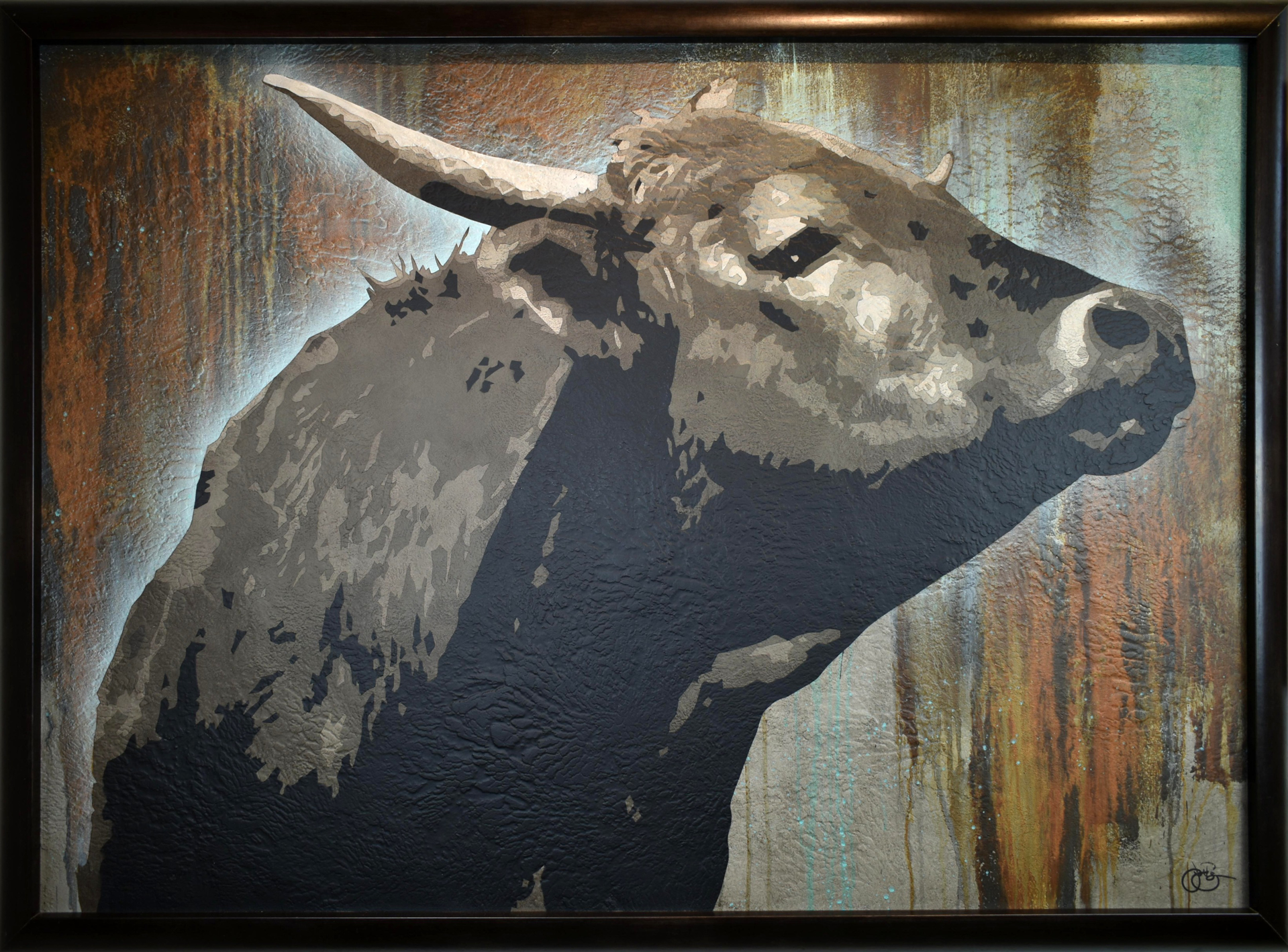 Bos Taurus 5 by Jerry Bergin