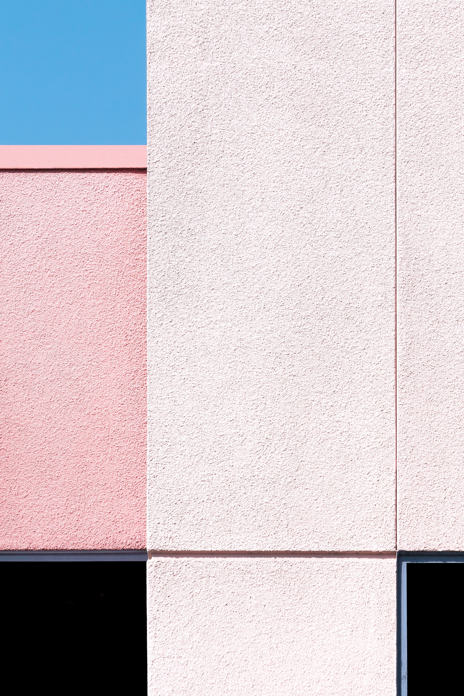 Pink with Black and Blue by Jon Setter