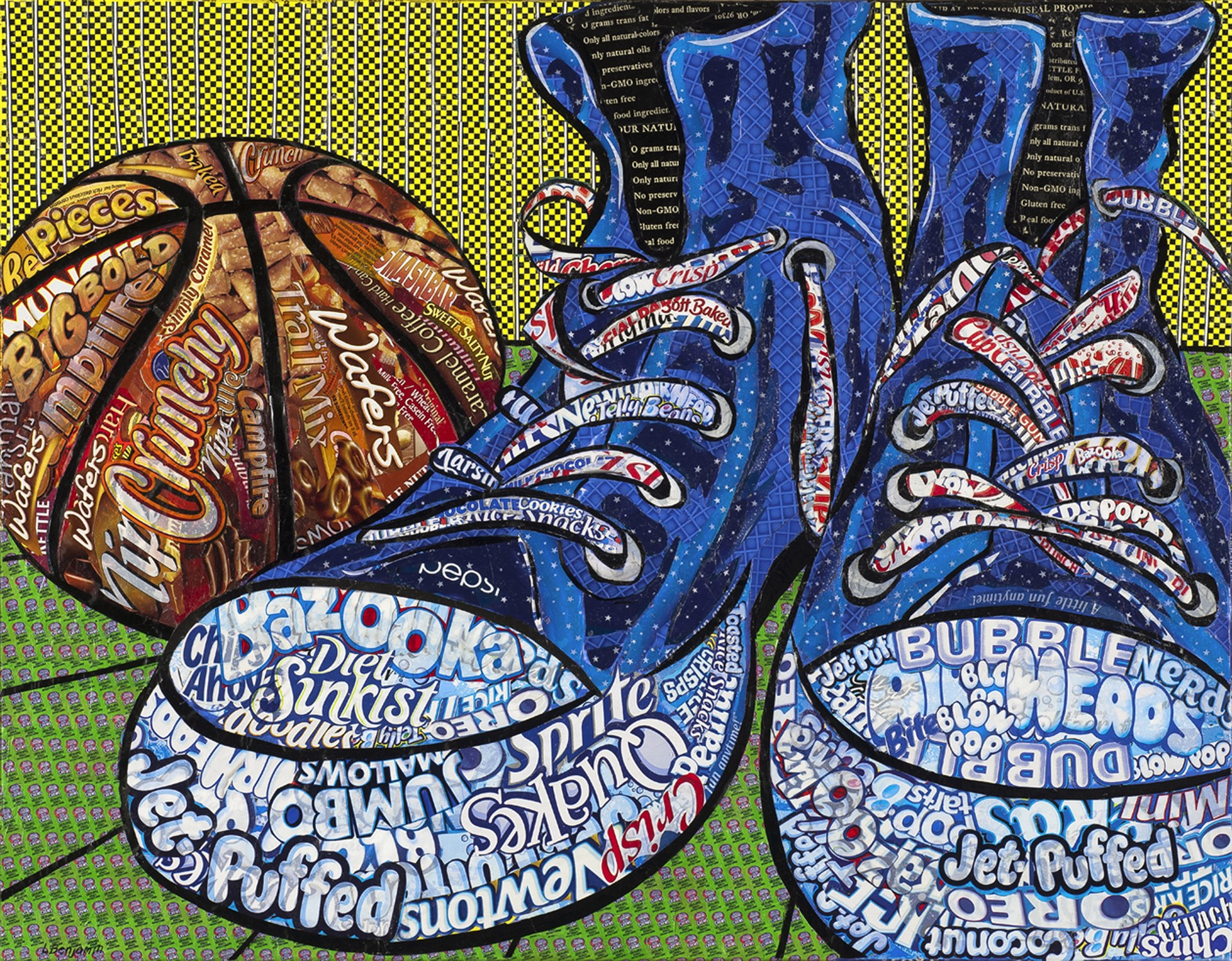 Still Life with Sneakers-Ed 3/40 by Laura Benjamin