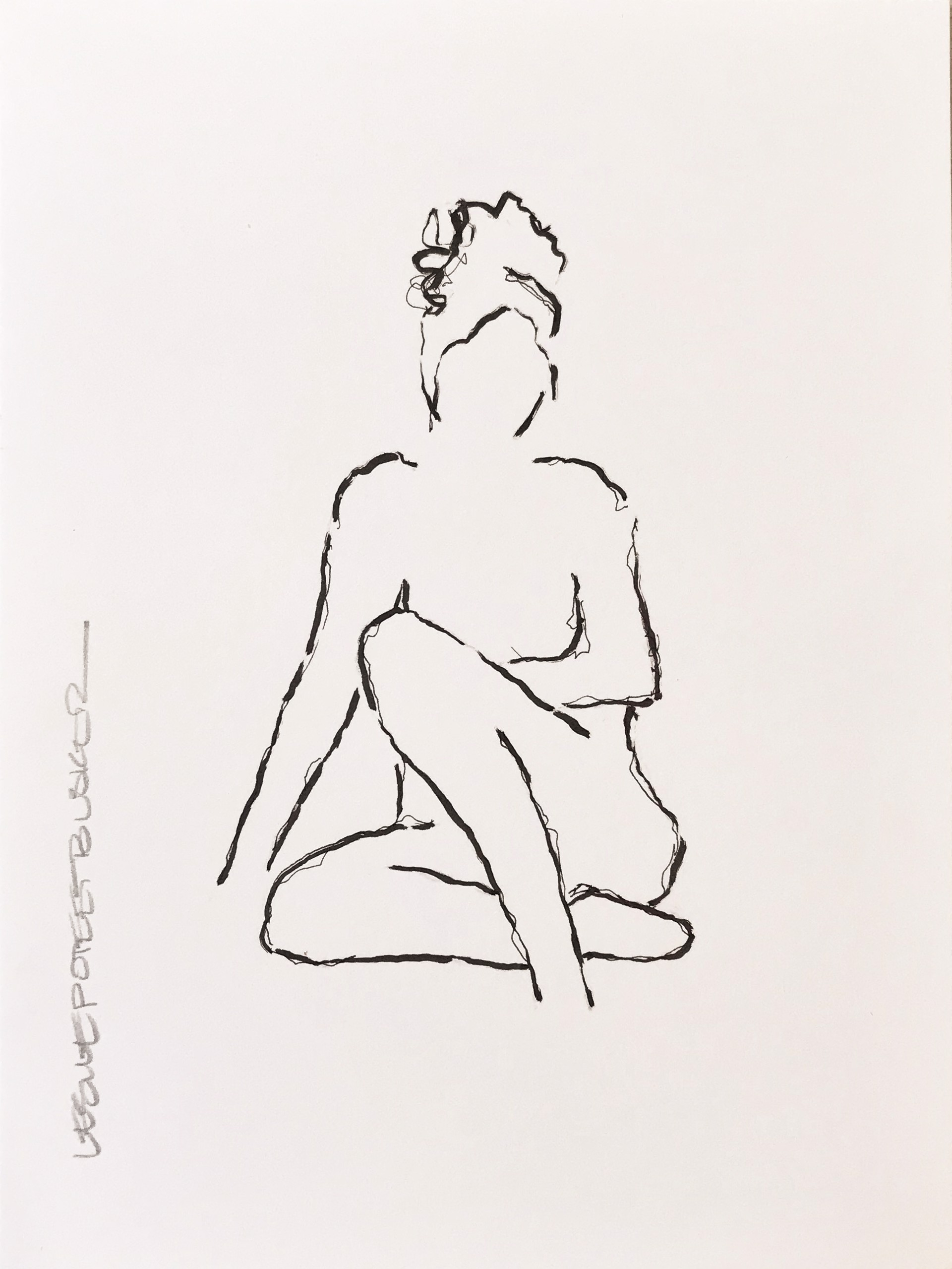 Figure No. 82 by Leslie Poteet Busker