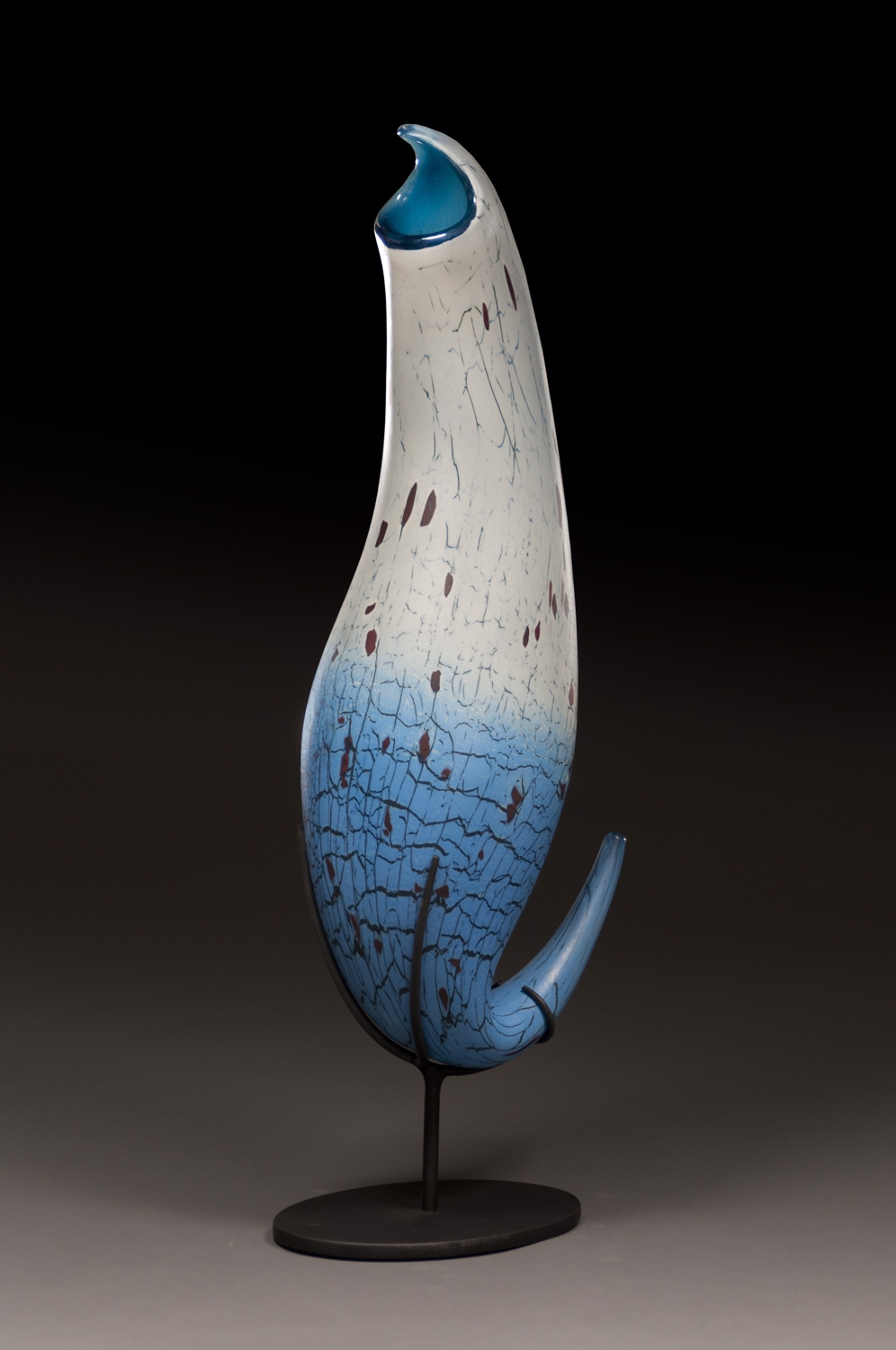 Sky Blue Pitcher by Peter Wright