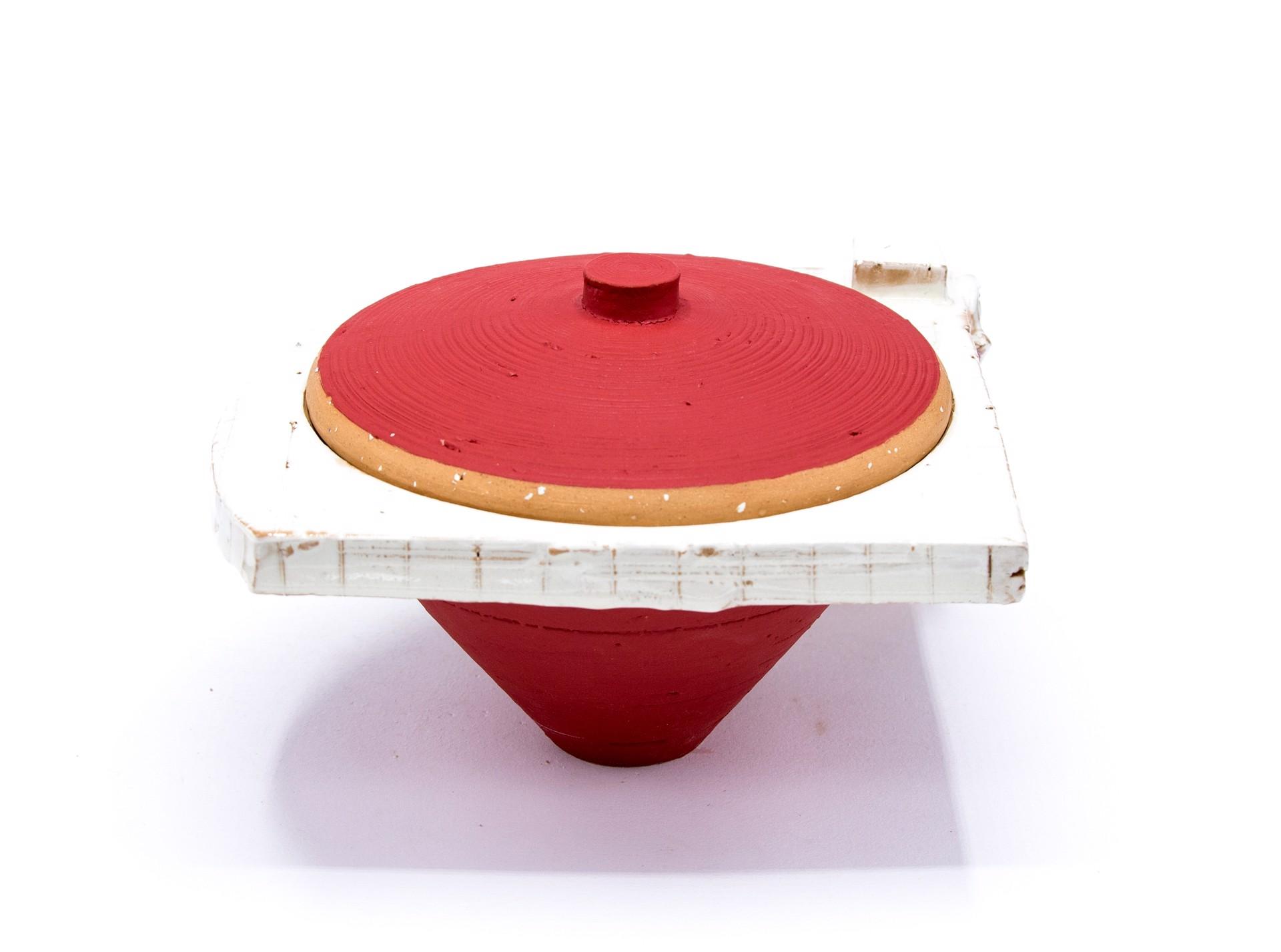 Lidded Jar (9) by Zak Helenske