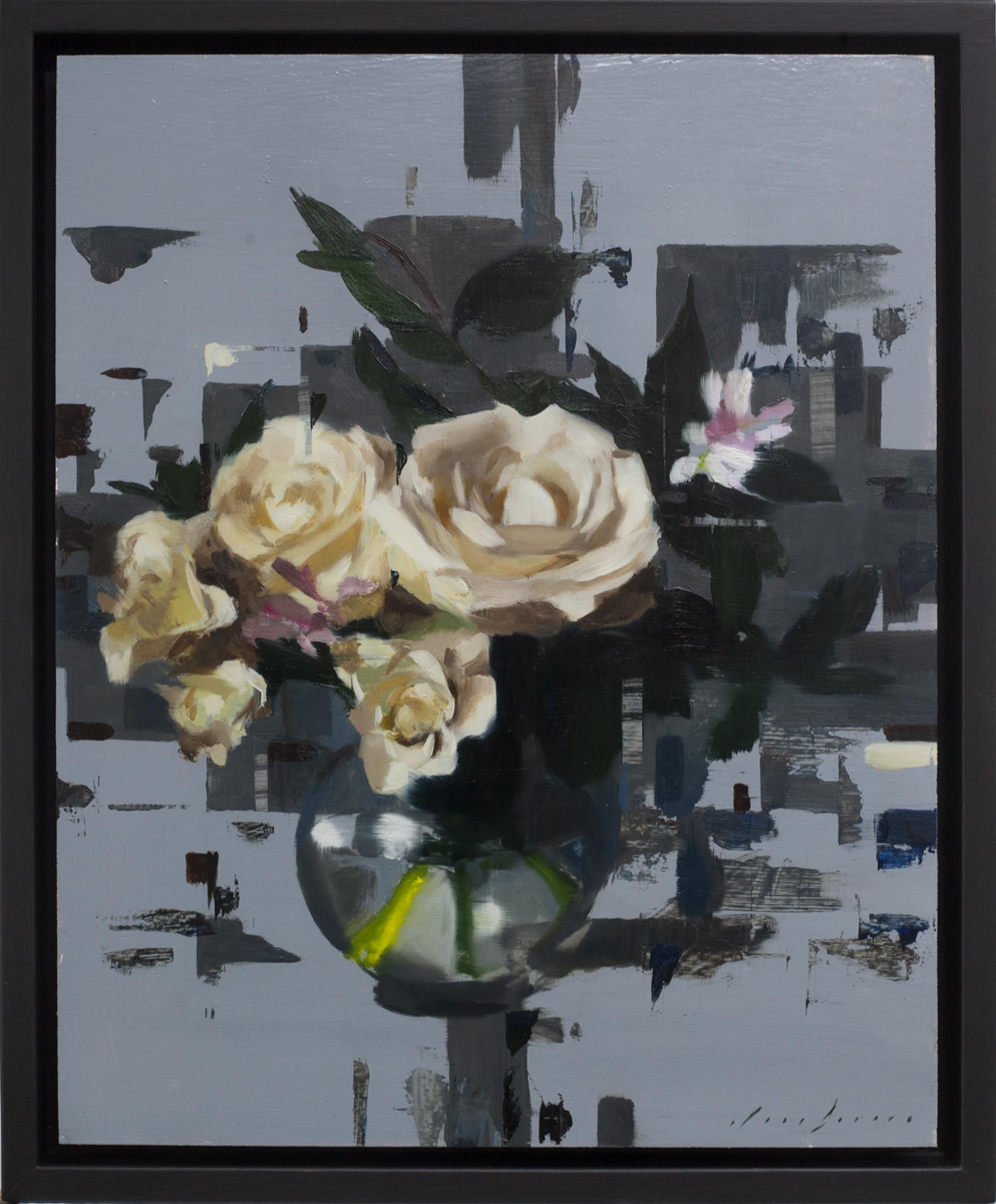 Fragmented Roses by Jon Doran