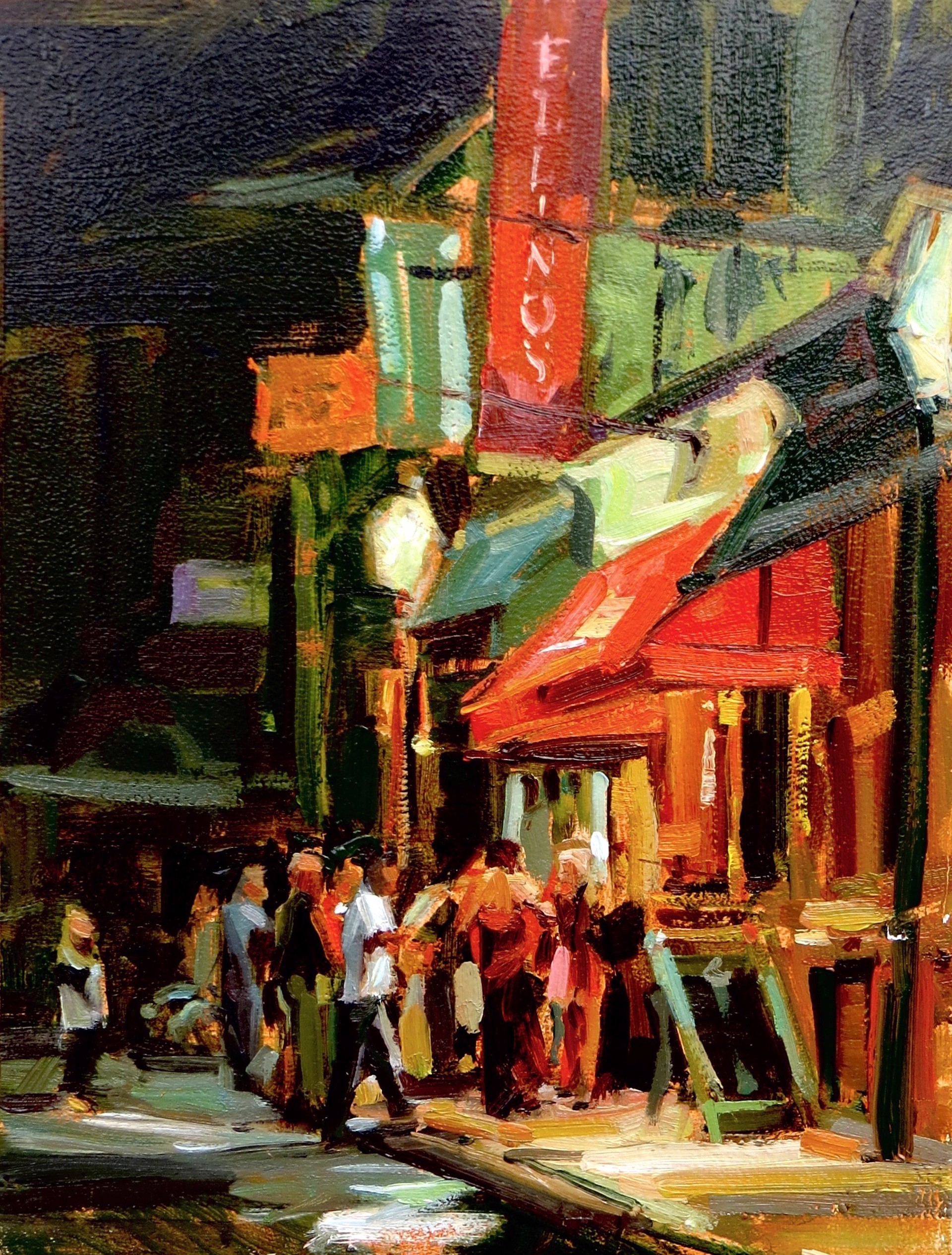 North End Nightlife by Eli Cedrone