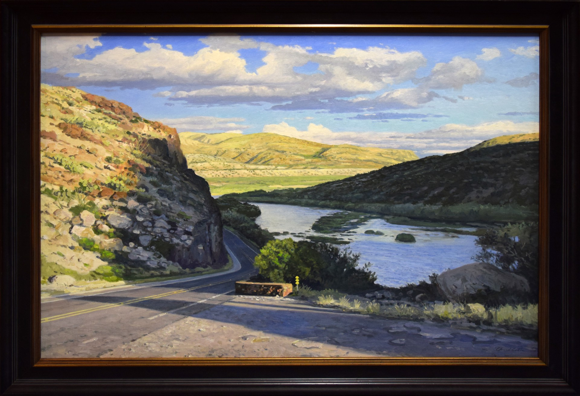 River Road Pull Out by David Caton