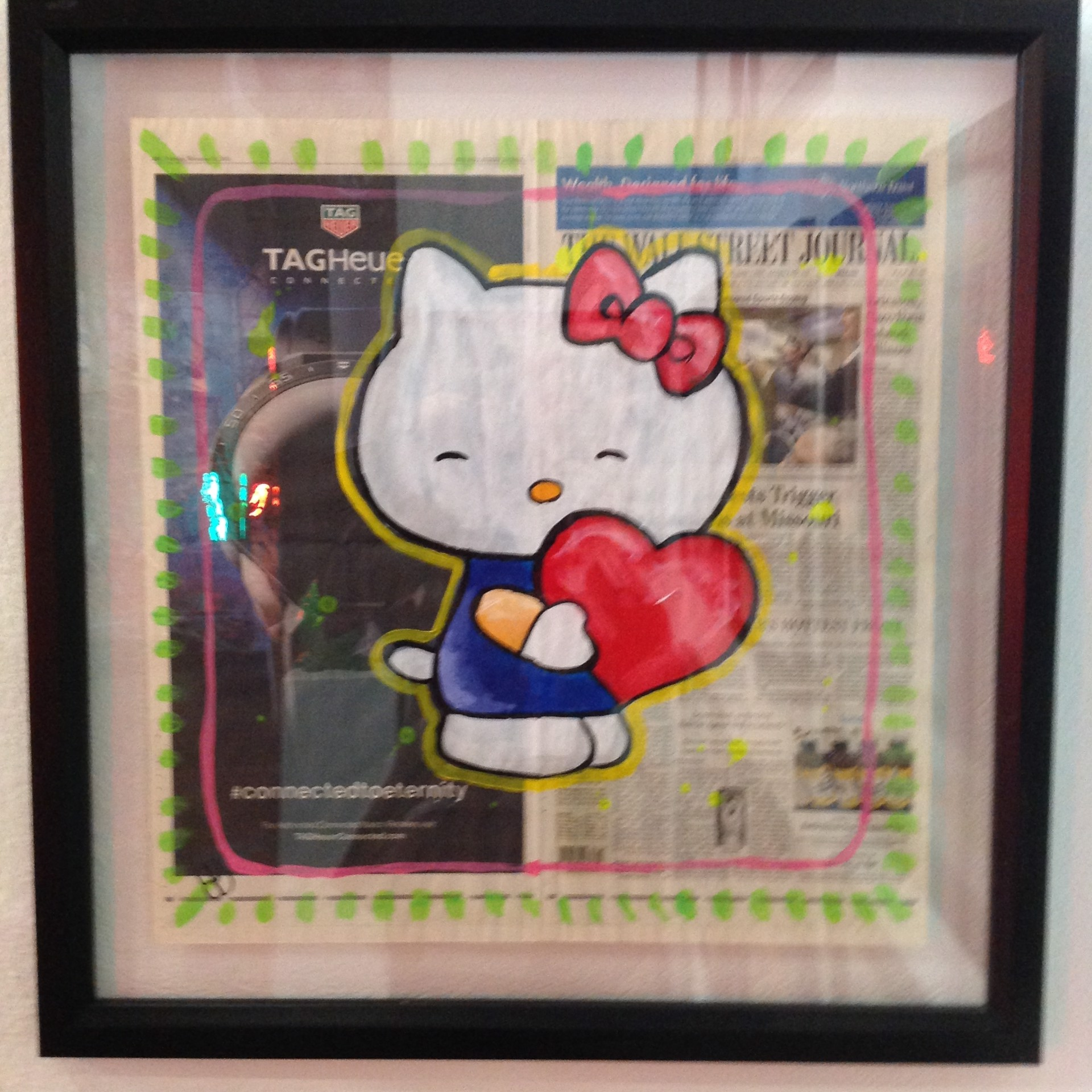 Wall Street Journal series Hello Kitty by Elena Bulatova
