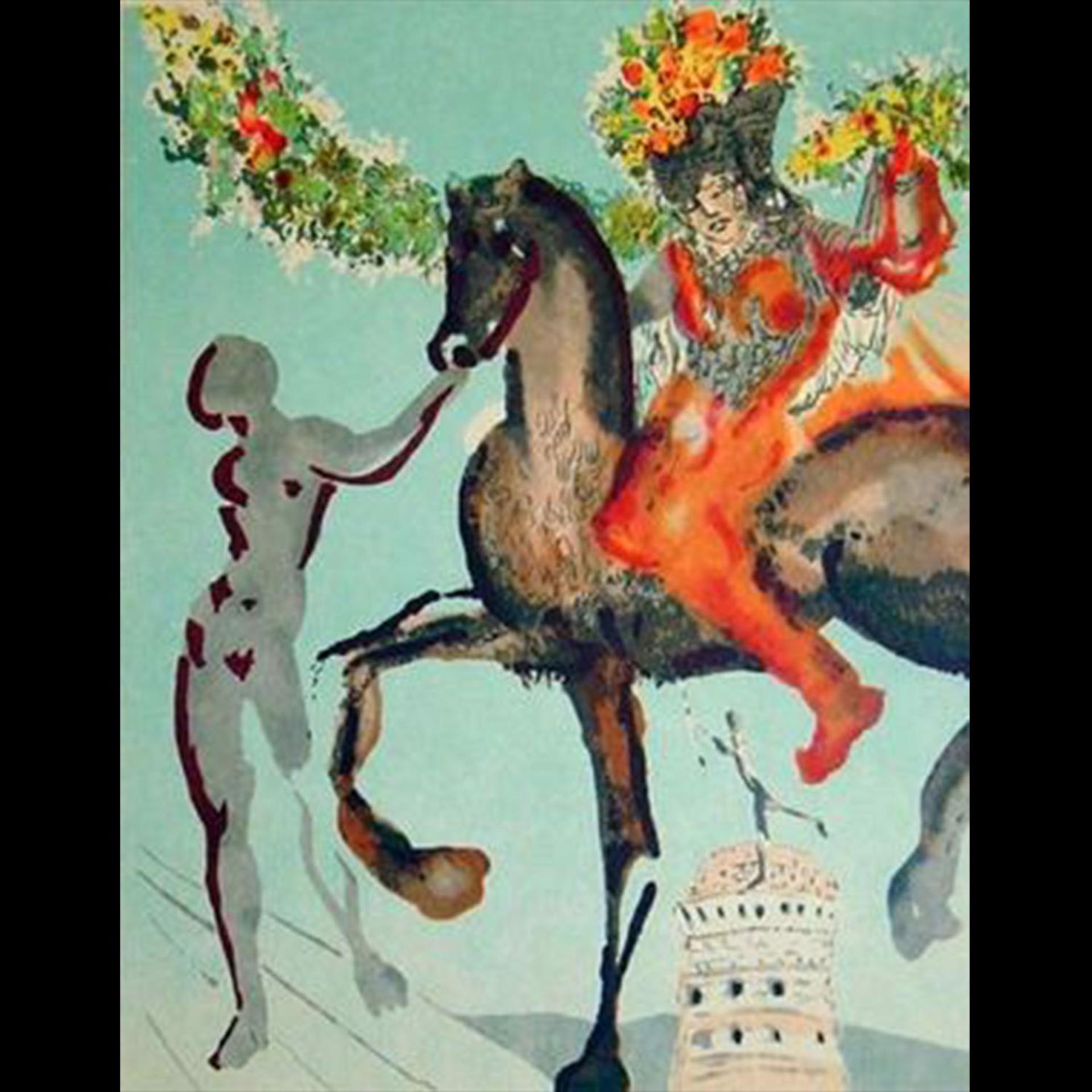 Harbinger (New Jerusalem Suite) by Salvador Dali
