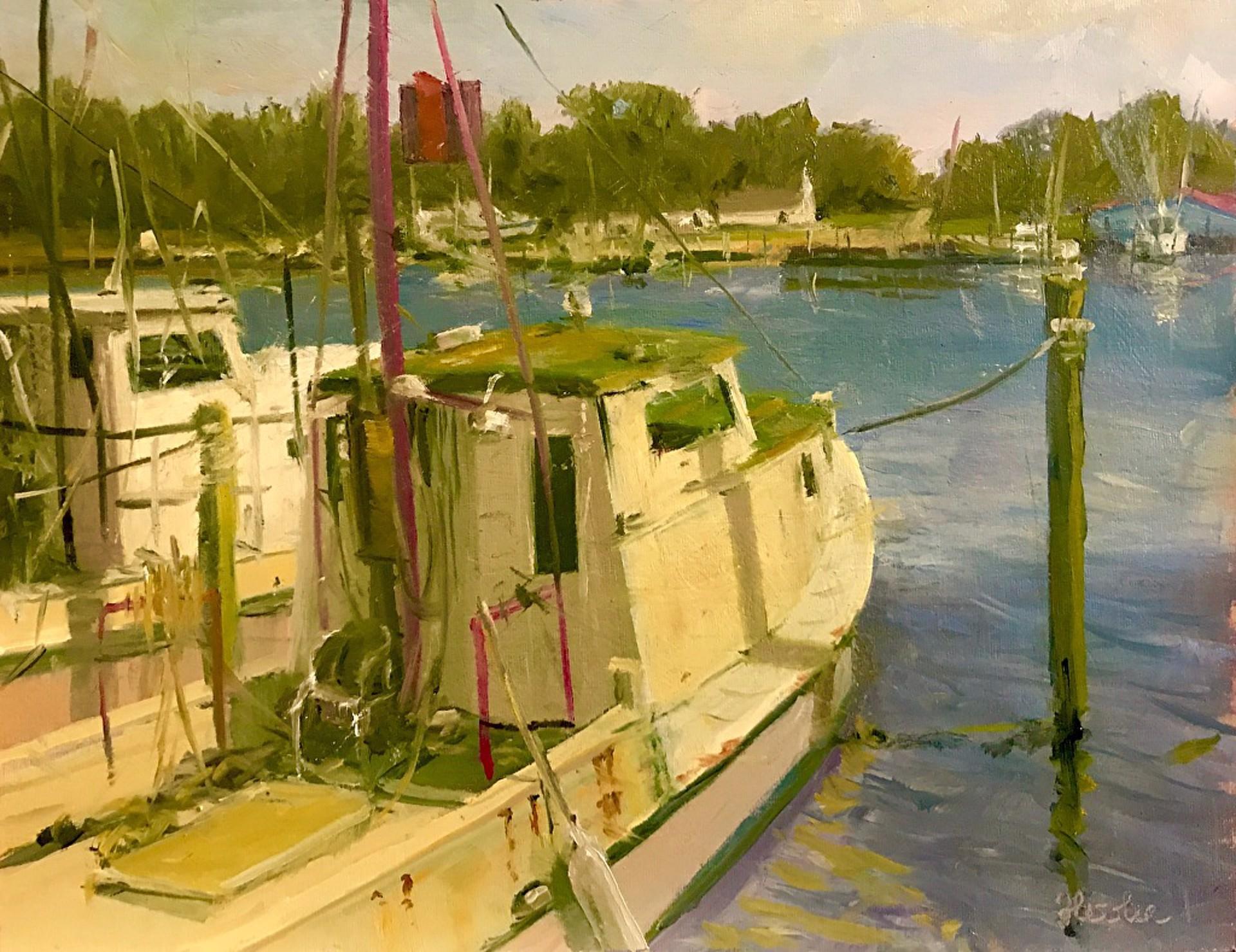 The Old Guard, Atlantic Harbor by Steve Hessler