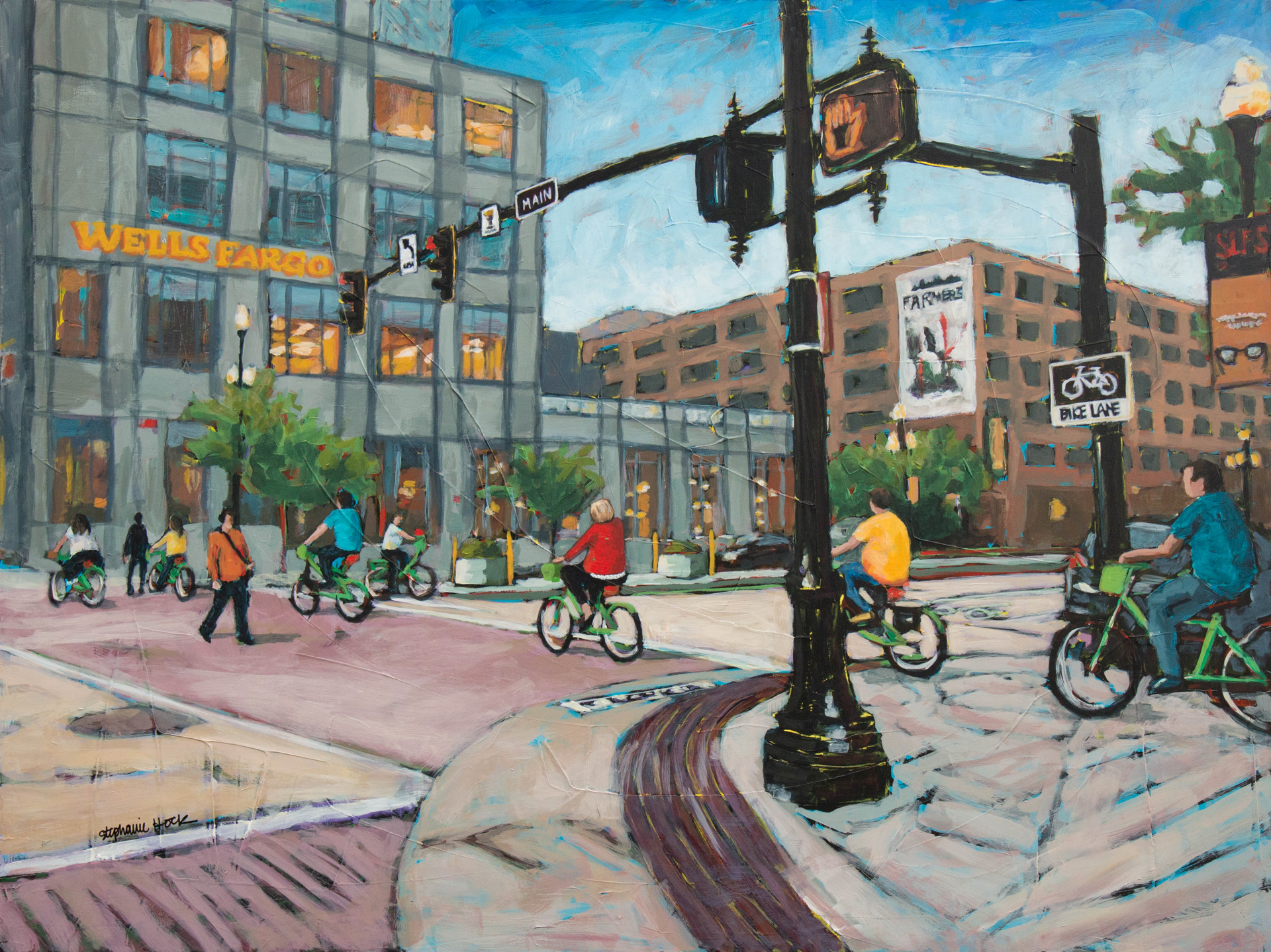 Biker Gang by Stephanie Hock