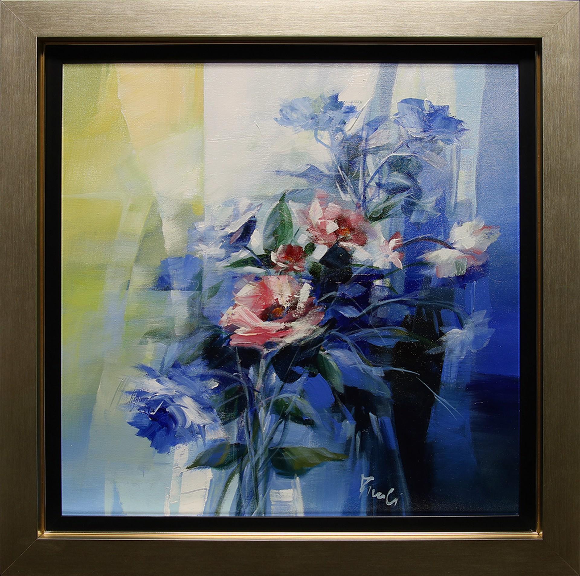 Luce Blue by Pietro Piccoli