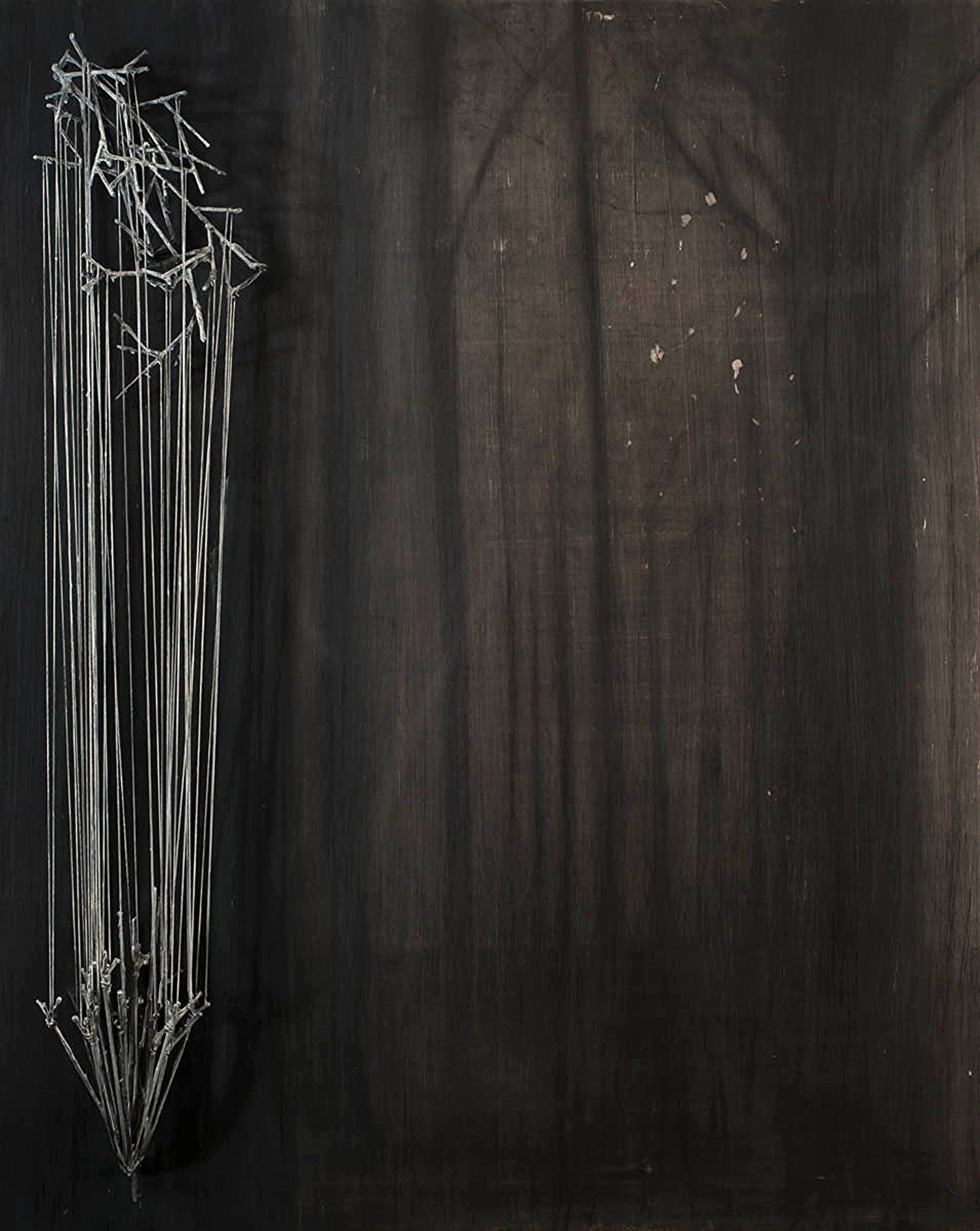 FOREST WITH STRING by JUSTIN GAFFREY