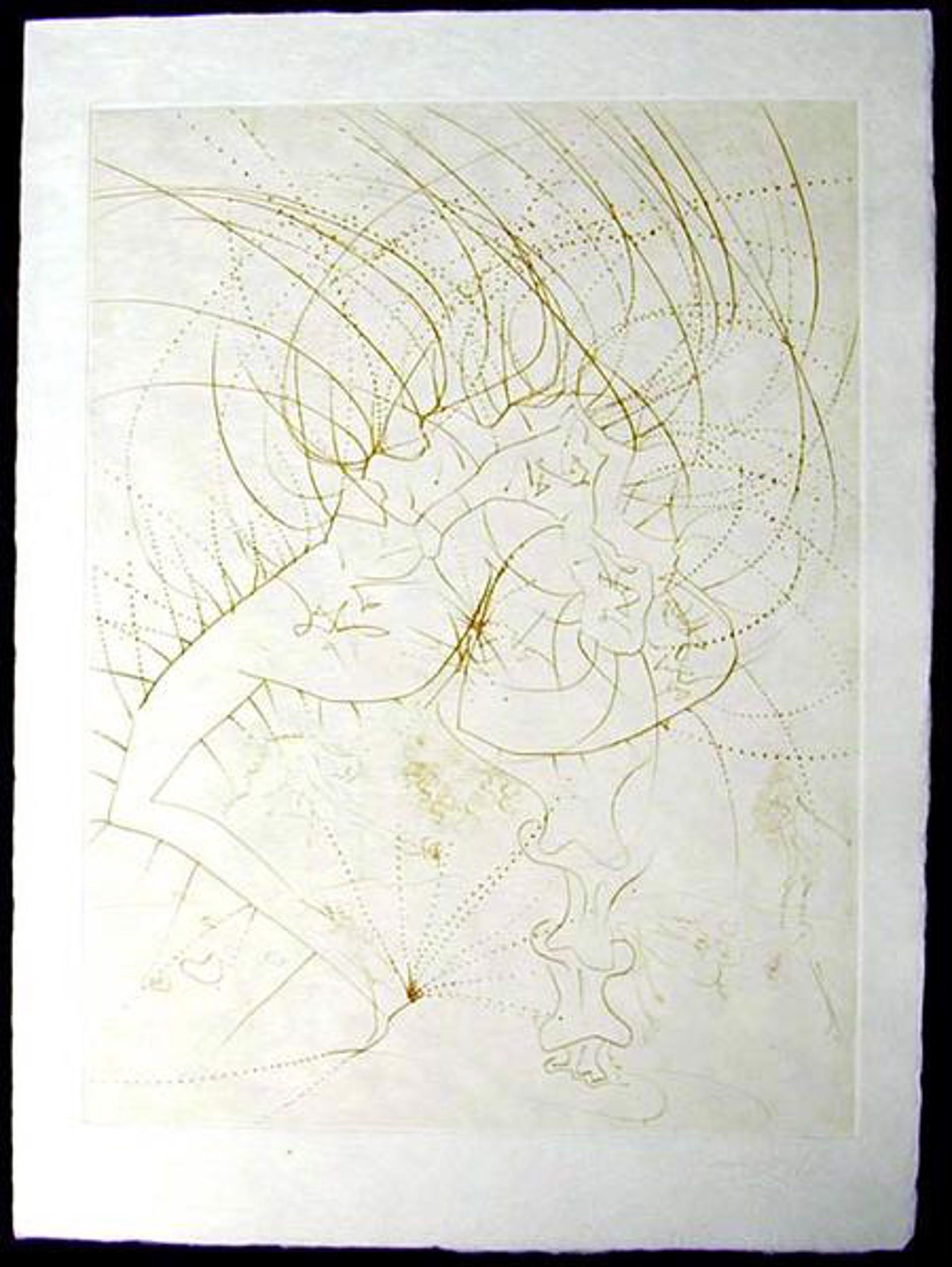 La Femme Feuille from La Venus aux Fourrures by Salvador Dali