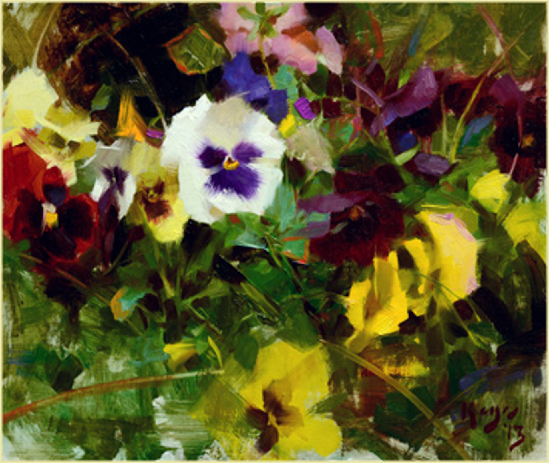 Pansy Song by Daniel Keys
