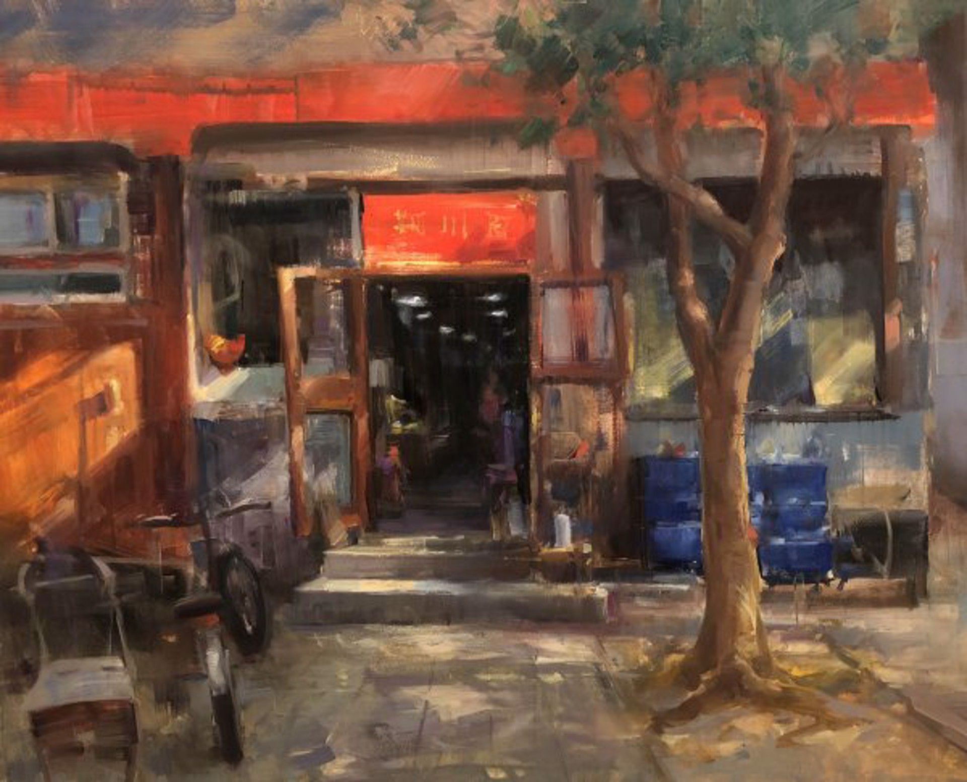 Dumpling Shop by Bryan Mark Taylor