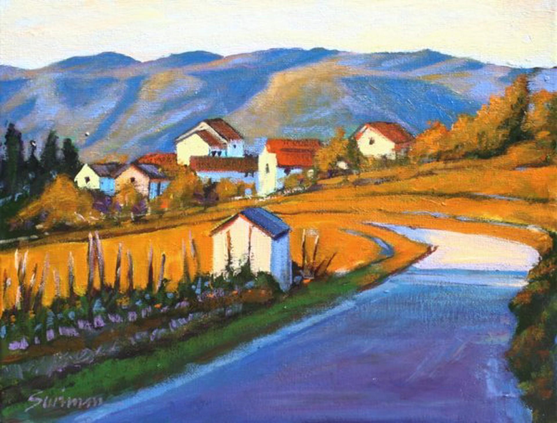 Return To Tuscany (Giclee) by Tom Swimm