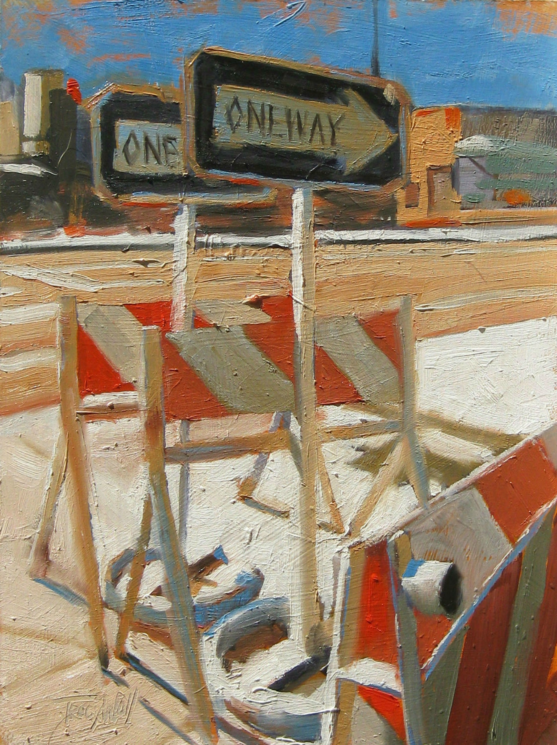 One Way by Tracy Wall