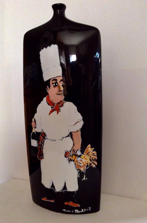 Vase (Coq Au Vin) (Ceramic)  by Guy Buffet