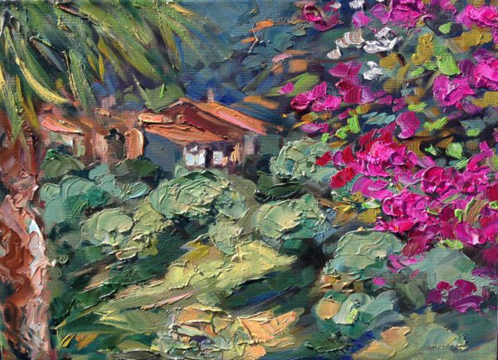 View From The Bungalow by Maria Bertrán
