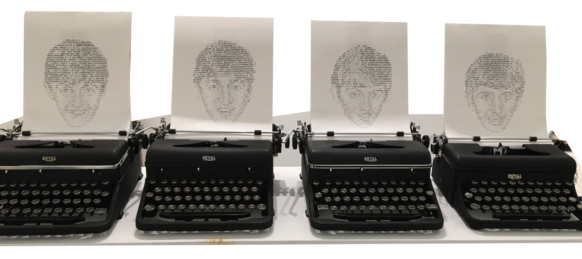 Beatles & Typewriters (Text: 8 Songs by The Beatles) by David Hollier