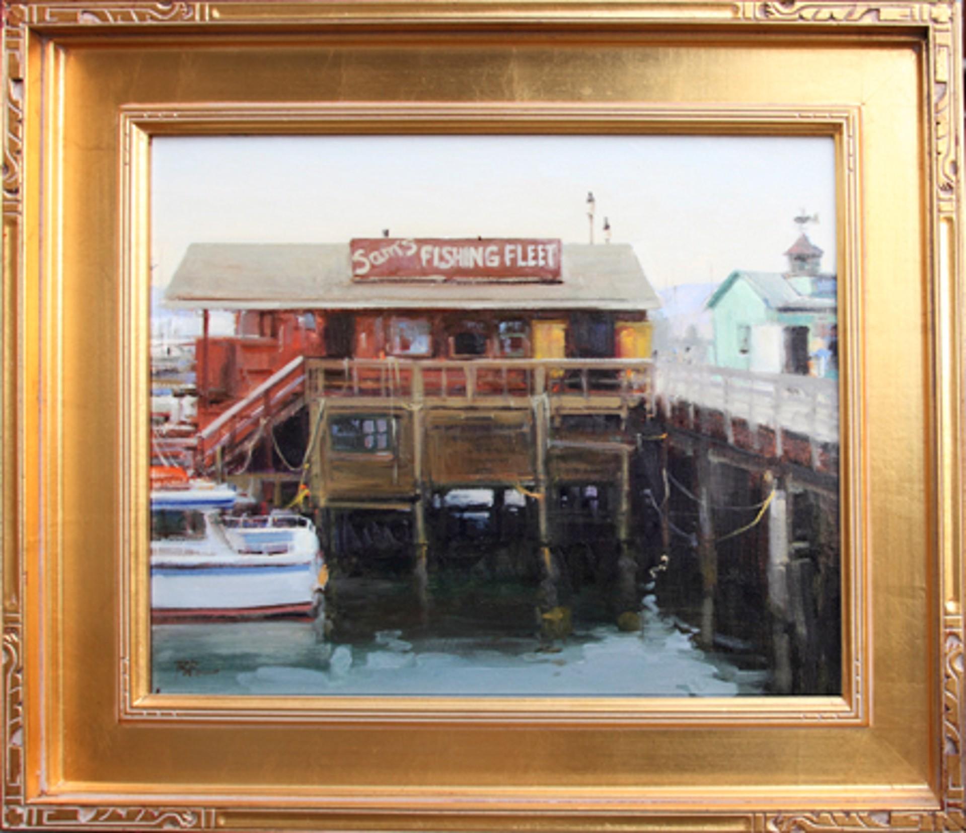 Sam's Fishing Fleet by Brian Blood