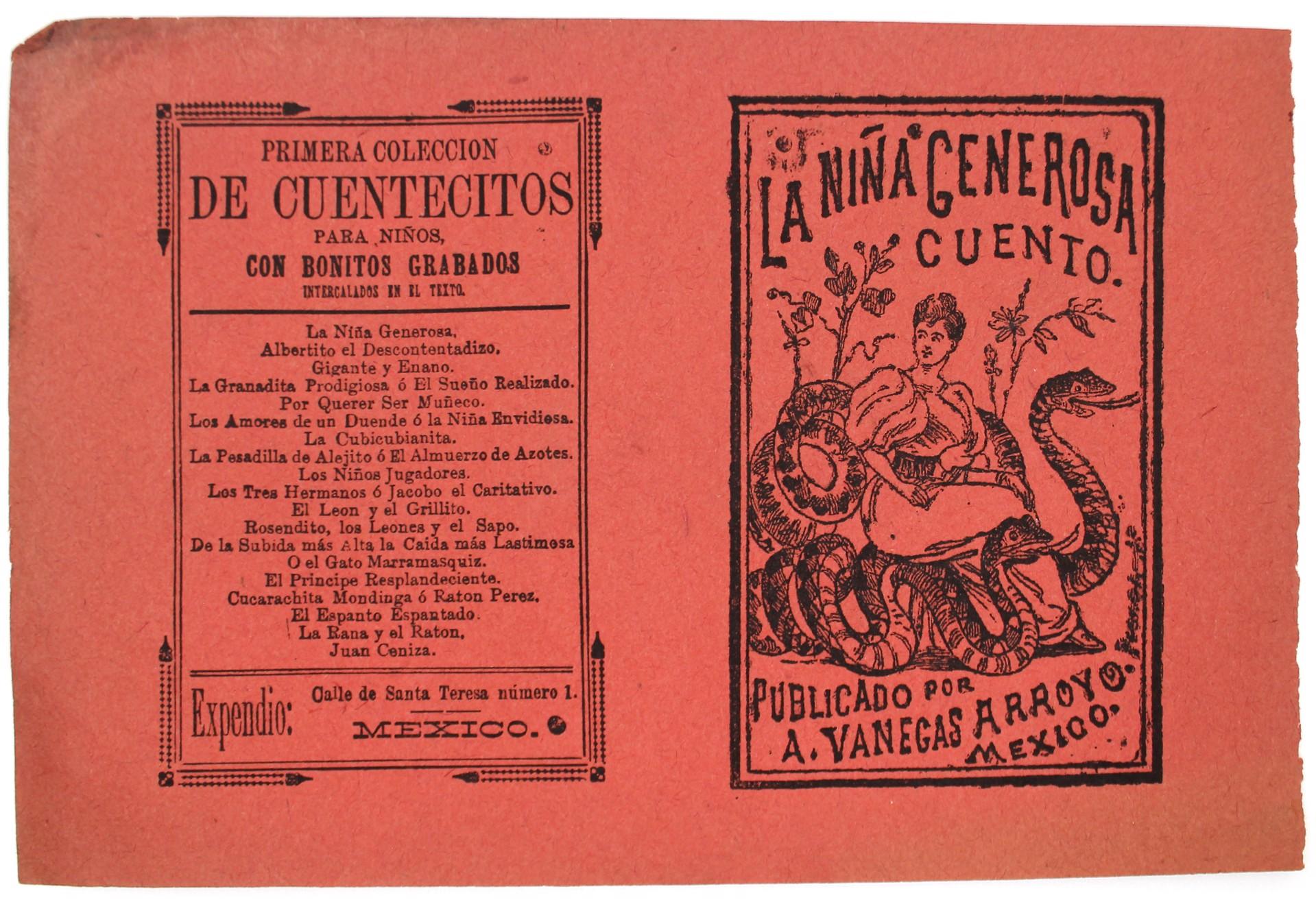 La Nina Generosa by José Guadalupe Posada (1852 - 1913)