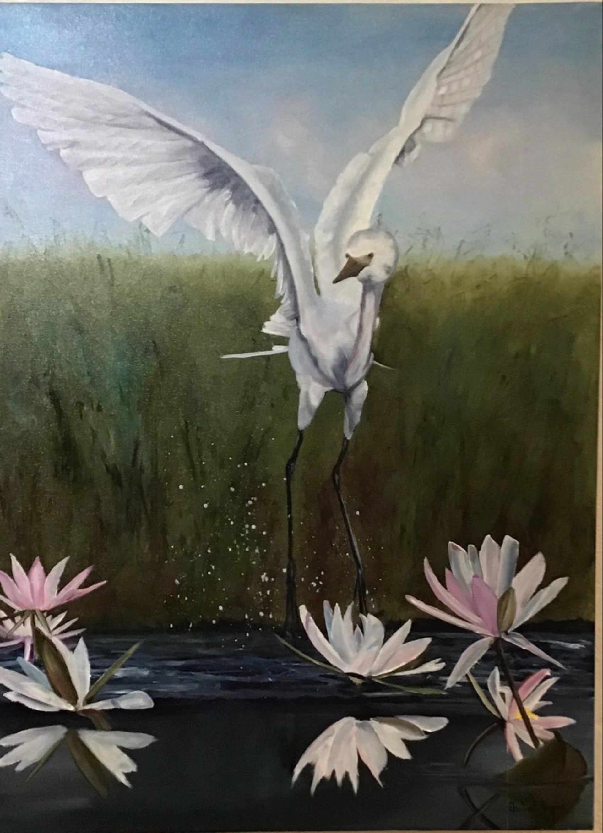 Among the Lilies by Julie Rogers