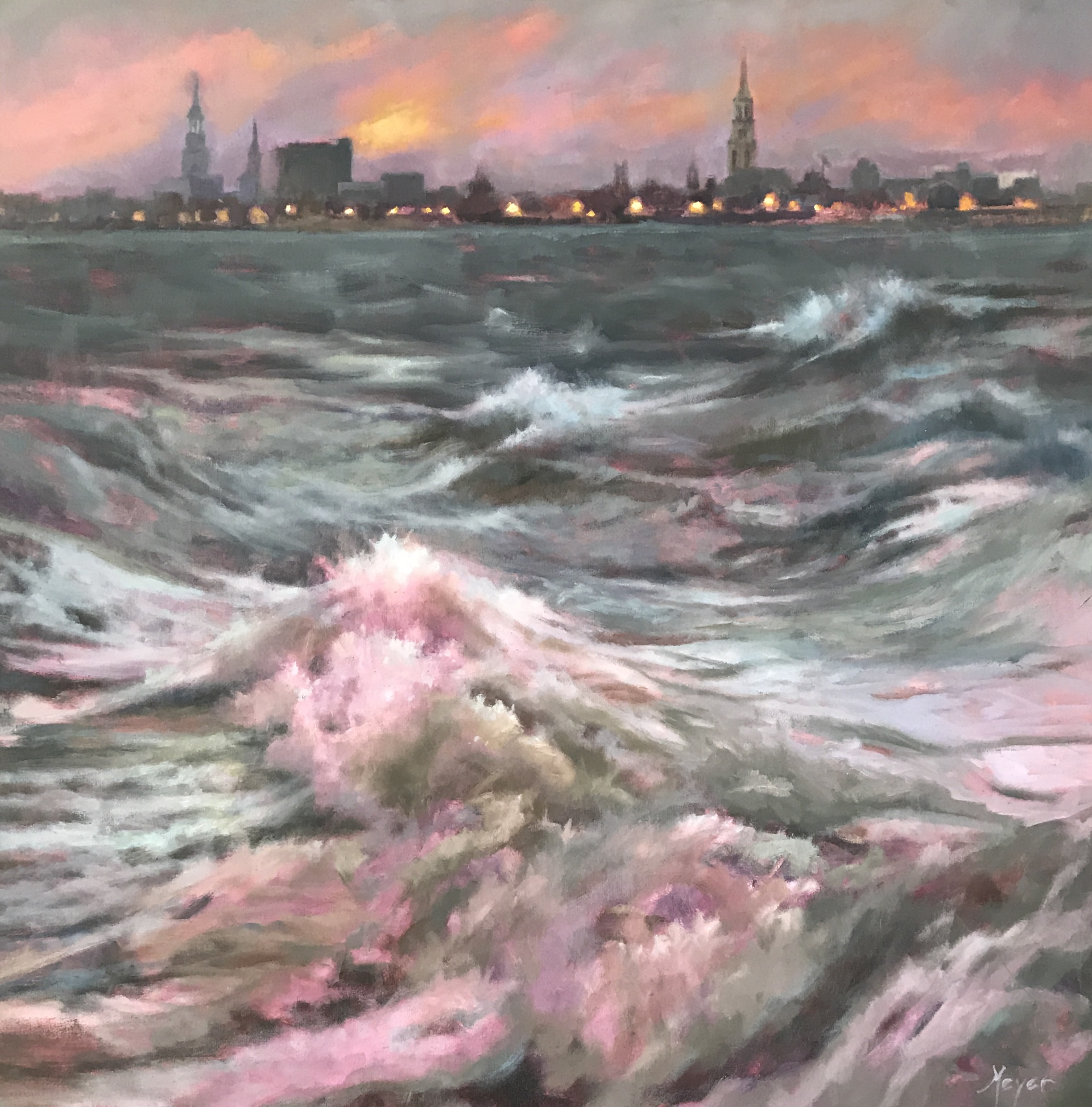Wake and Waves by Laurie Meyer