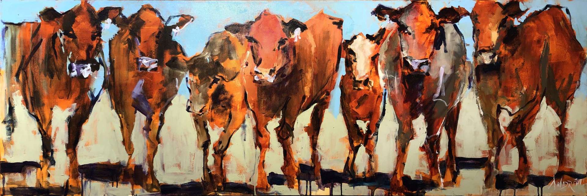 Where the Pasture's Greener by Andrée Hudson