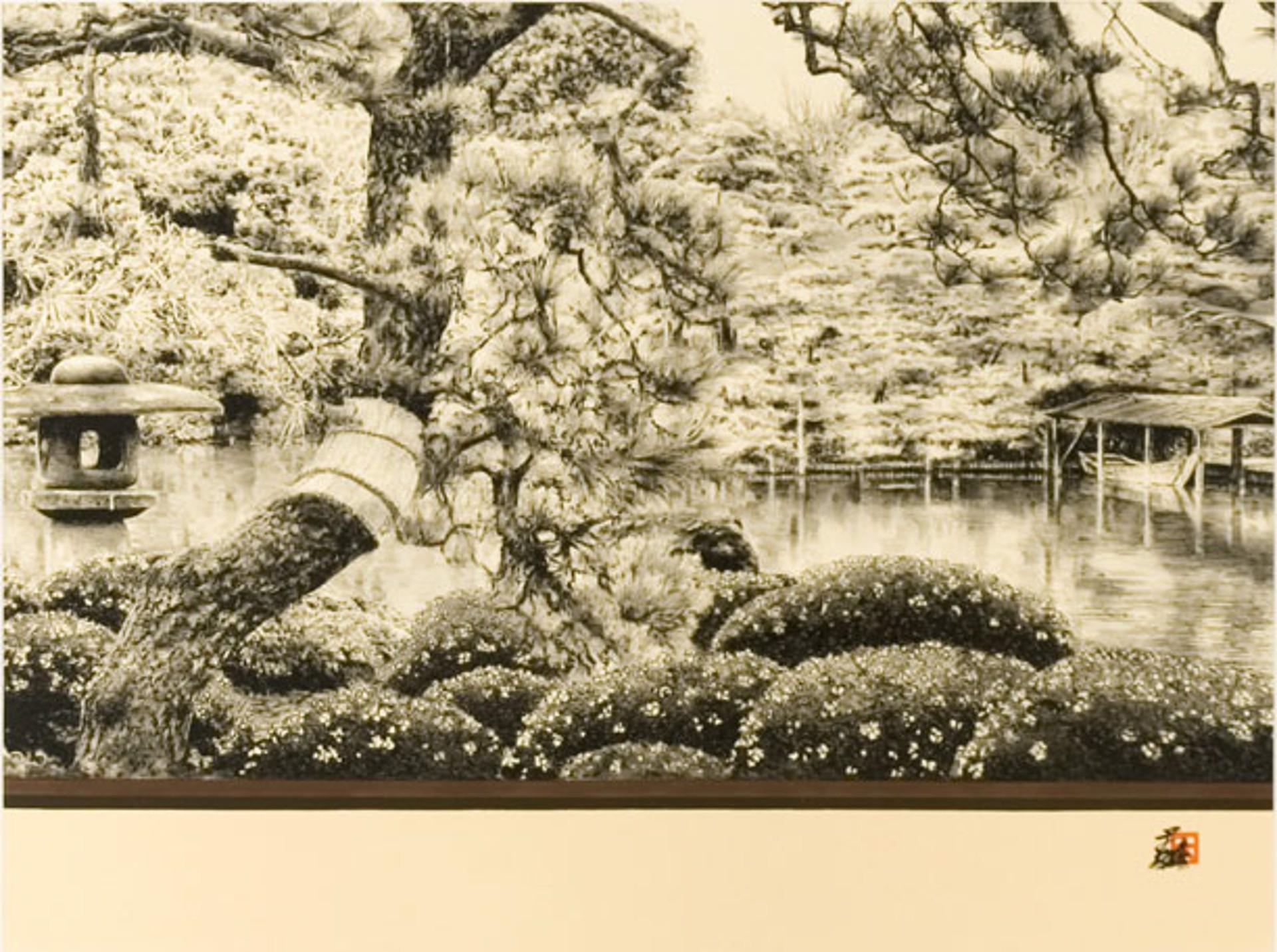 Rikugien Gardens by Hisashi Otsuka