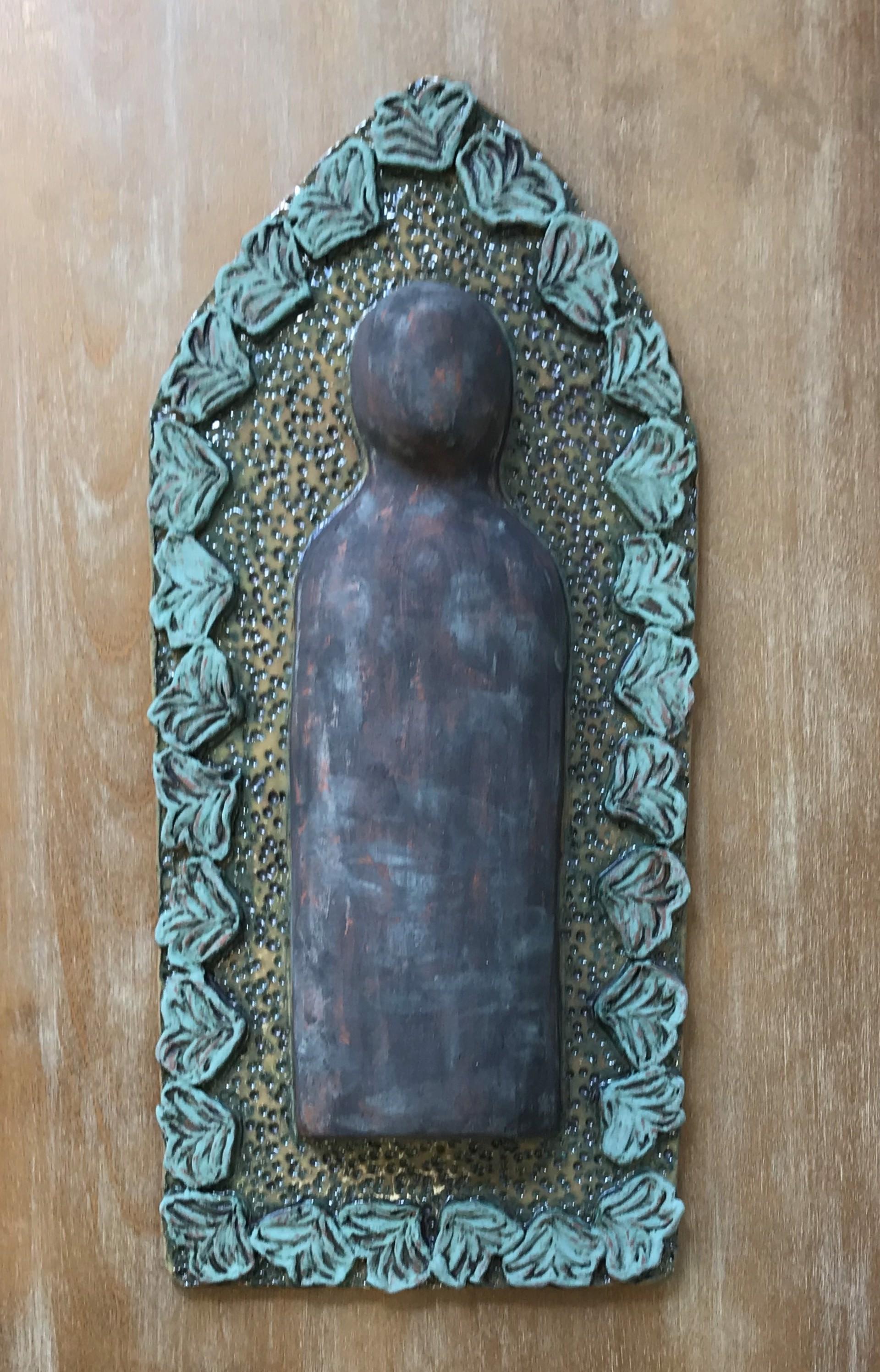 Medium Ceramic Reliquary by Cassie Butcher