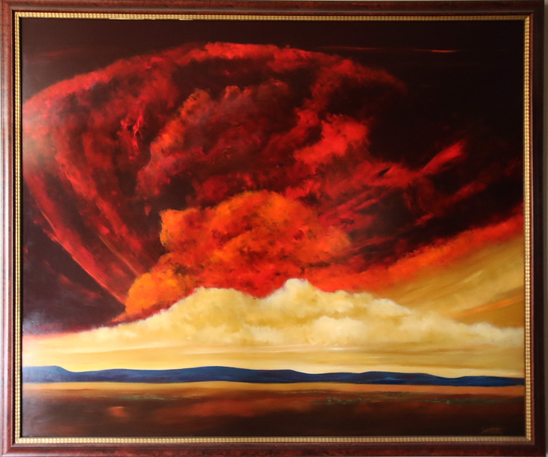 Home of the Red Heavens by Poteet Victory